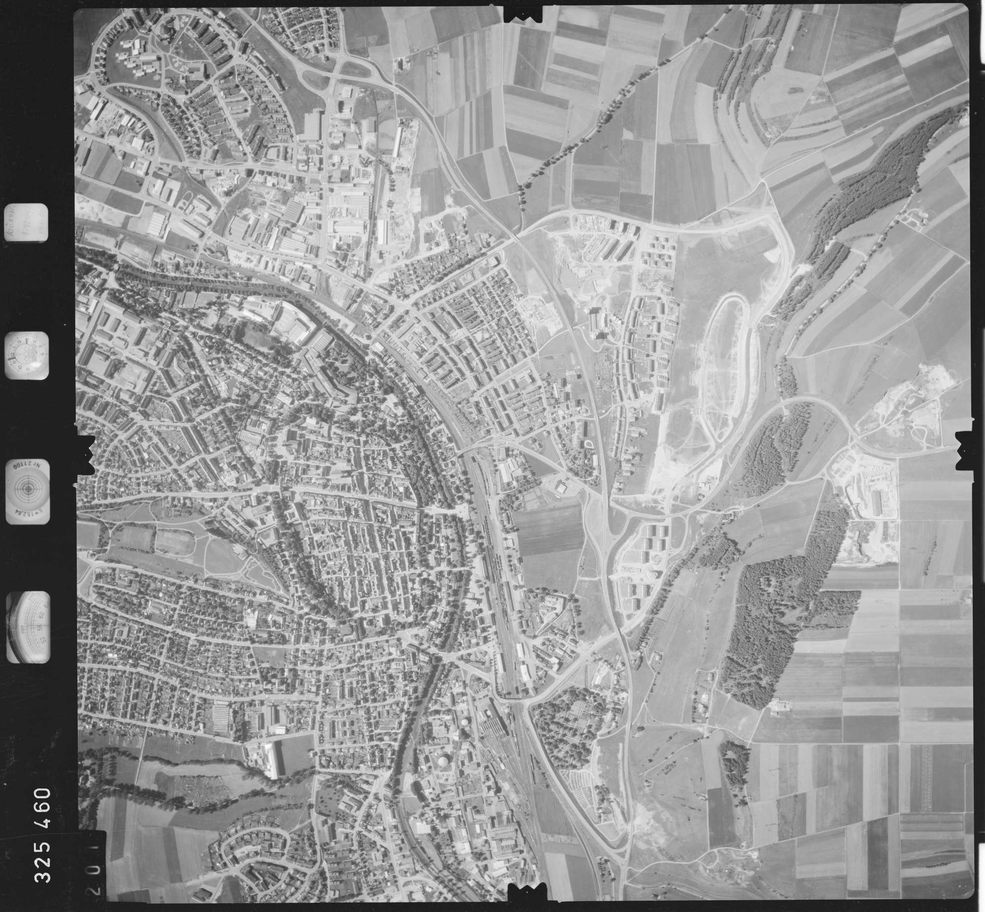 Luftbild: Film 48 Bildnr. 201, Bild 1
