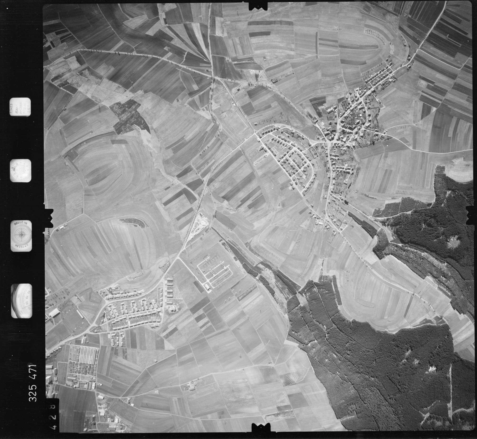 Luftbild: Film 52 Bildnr. 428, Bild 1