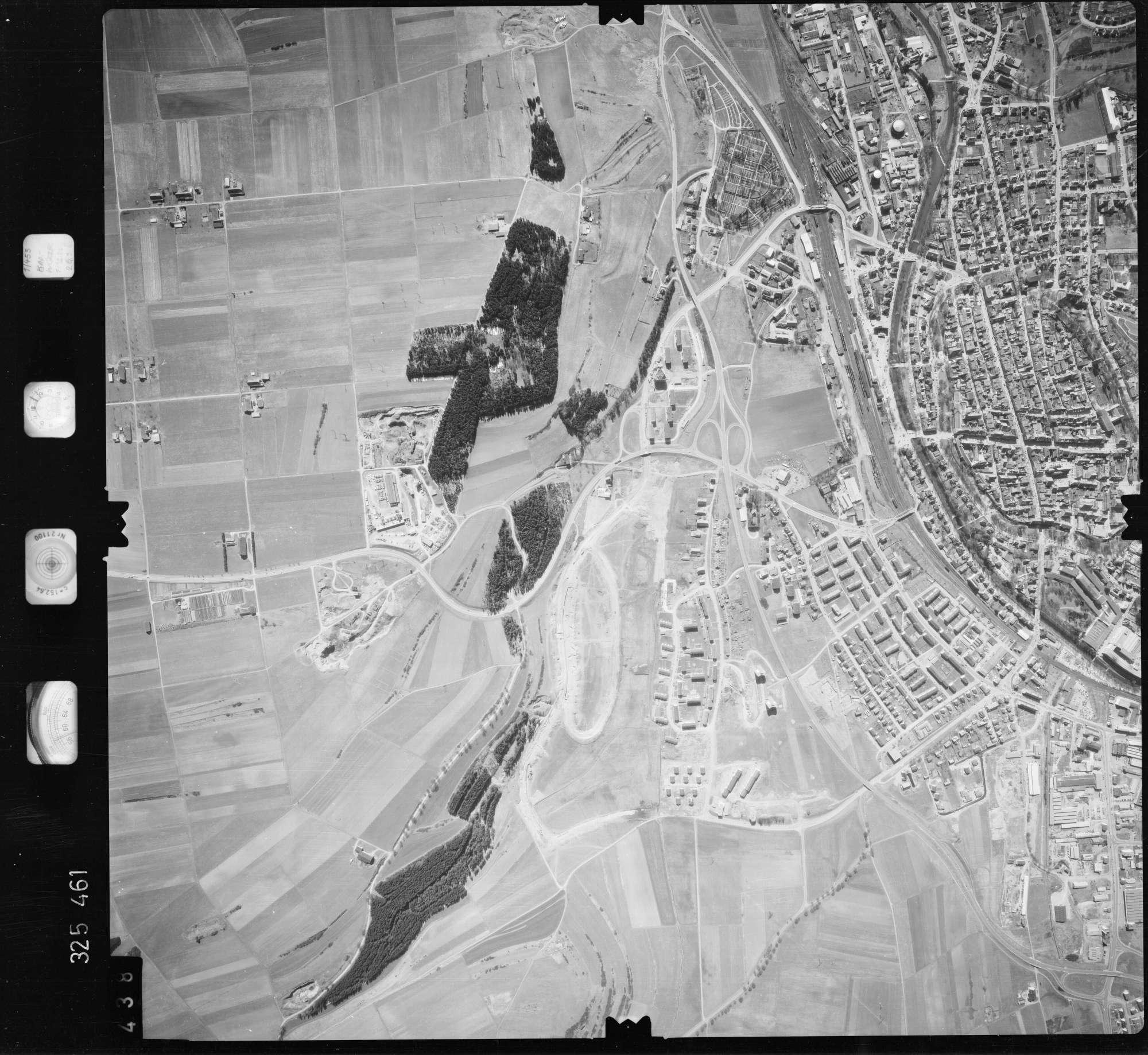 Luftbild: Film 52 Bildnr. 438, Bild 1