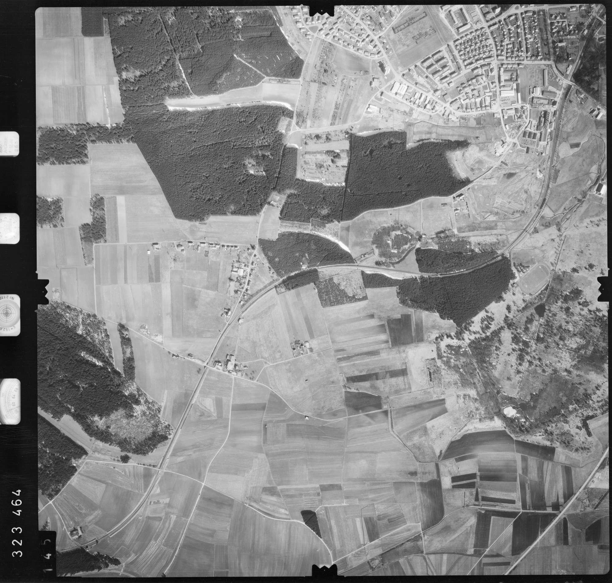 Luftbild: Film 53 Bildnr. 145, Bild 1