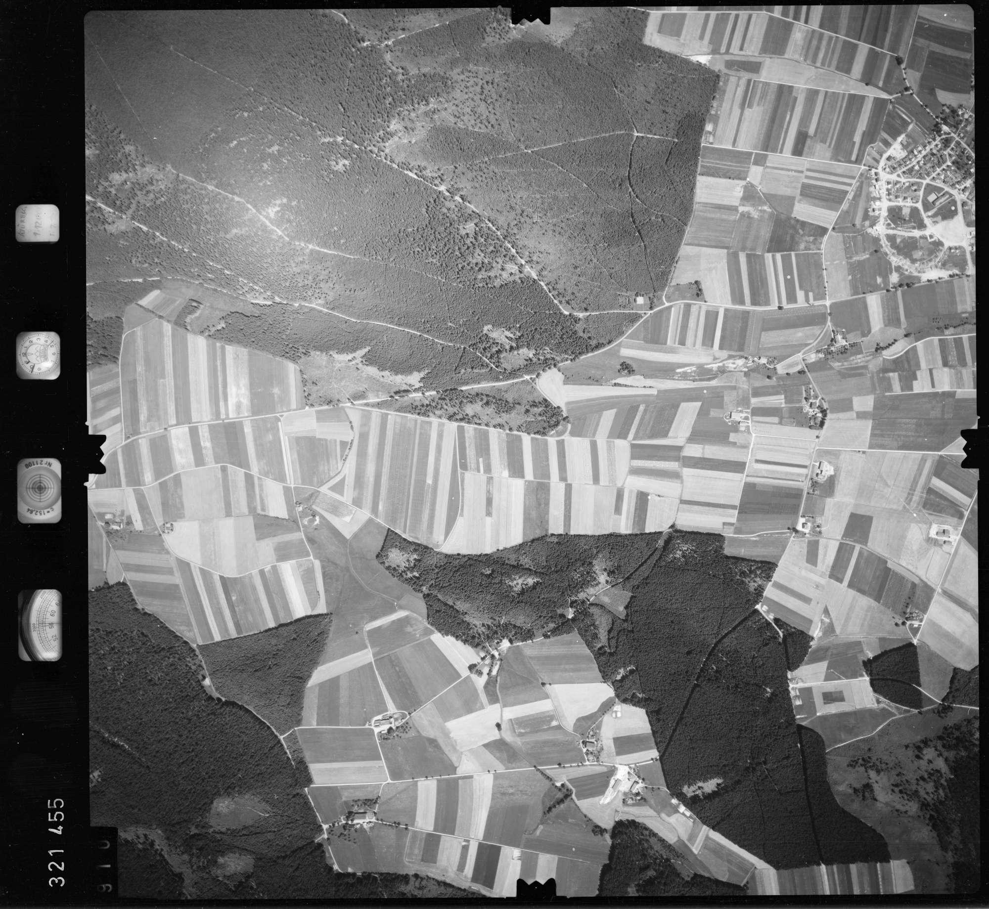 Luftbild: Film 55 Bildnr. 910, Bild 1