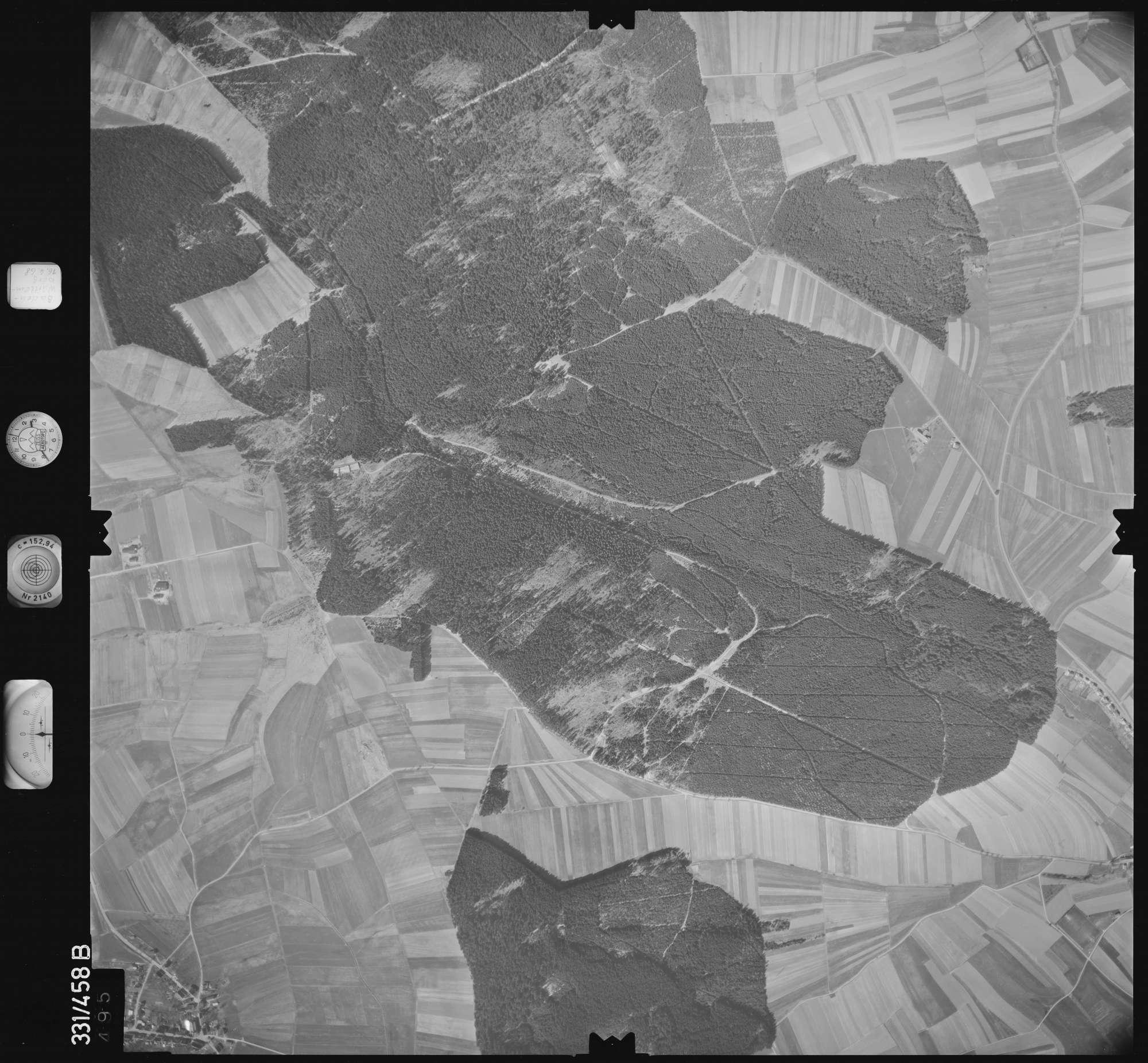 Luftbild: Film 89 Bildnr. 495, Bild 1
