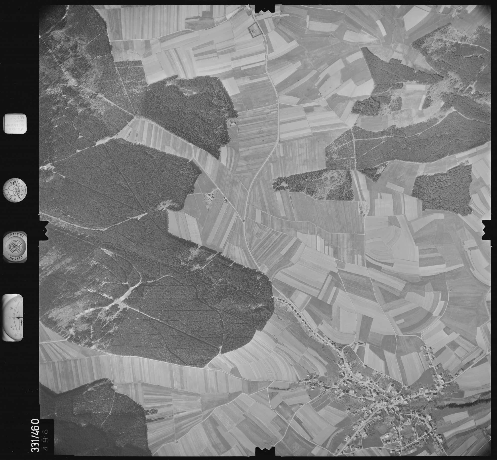Luftbild: Film 89 Bildnr. 496, Bild 1