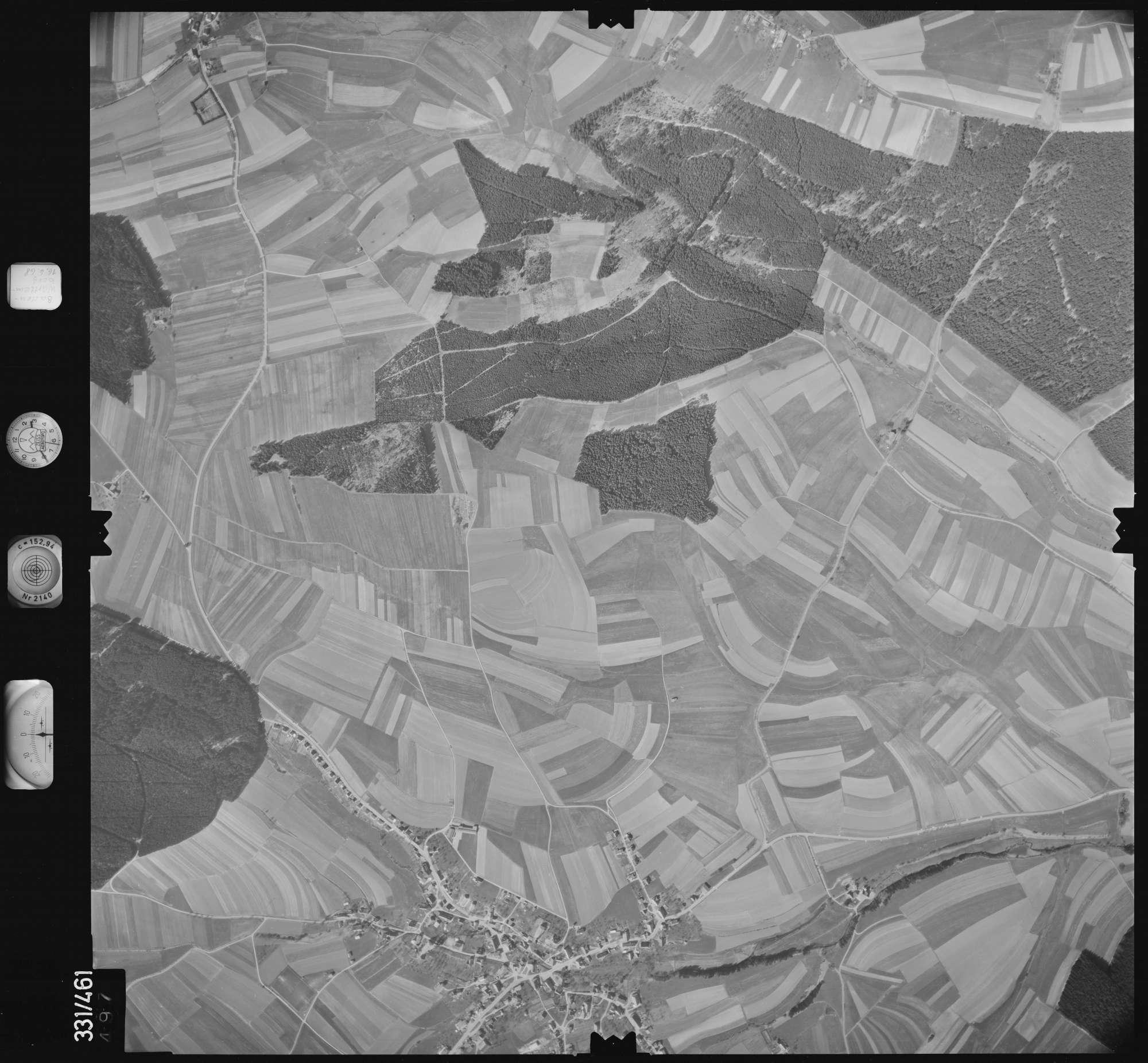 Luftbild: Film 89 Bildnr. 497, Bild 1