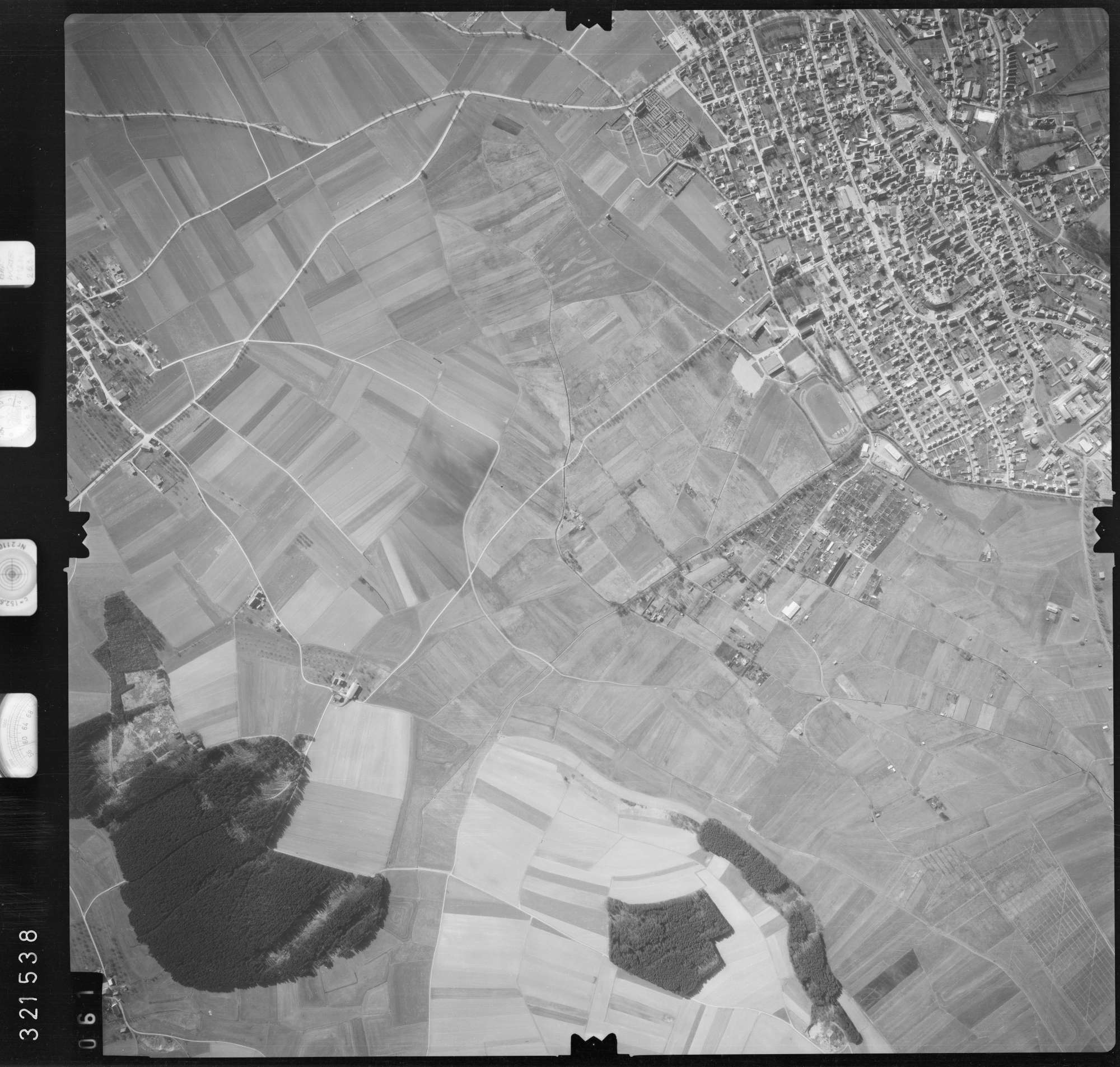 Luftbild: Film 53 Bildnr. 61, Bild 1