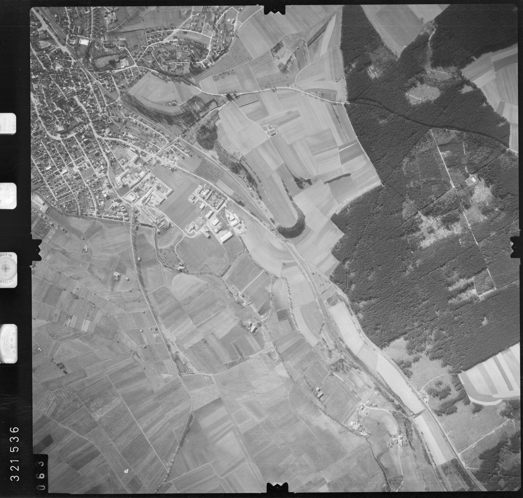 Luftbild: Film 53 Bildnr. 63, Bild 1