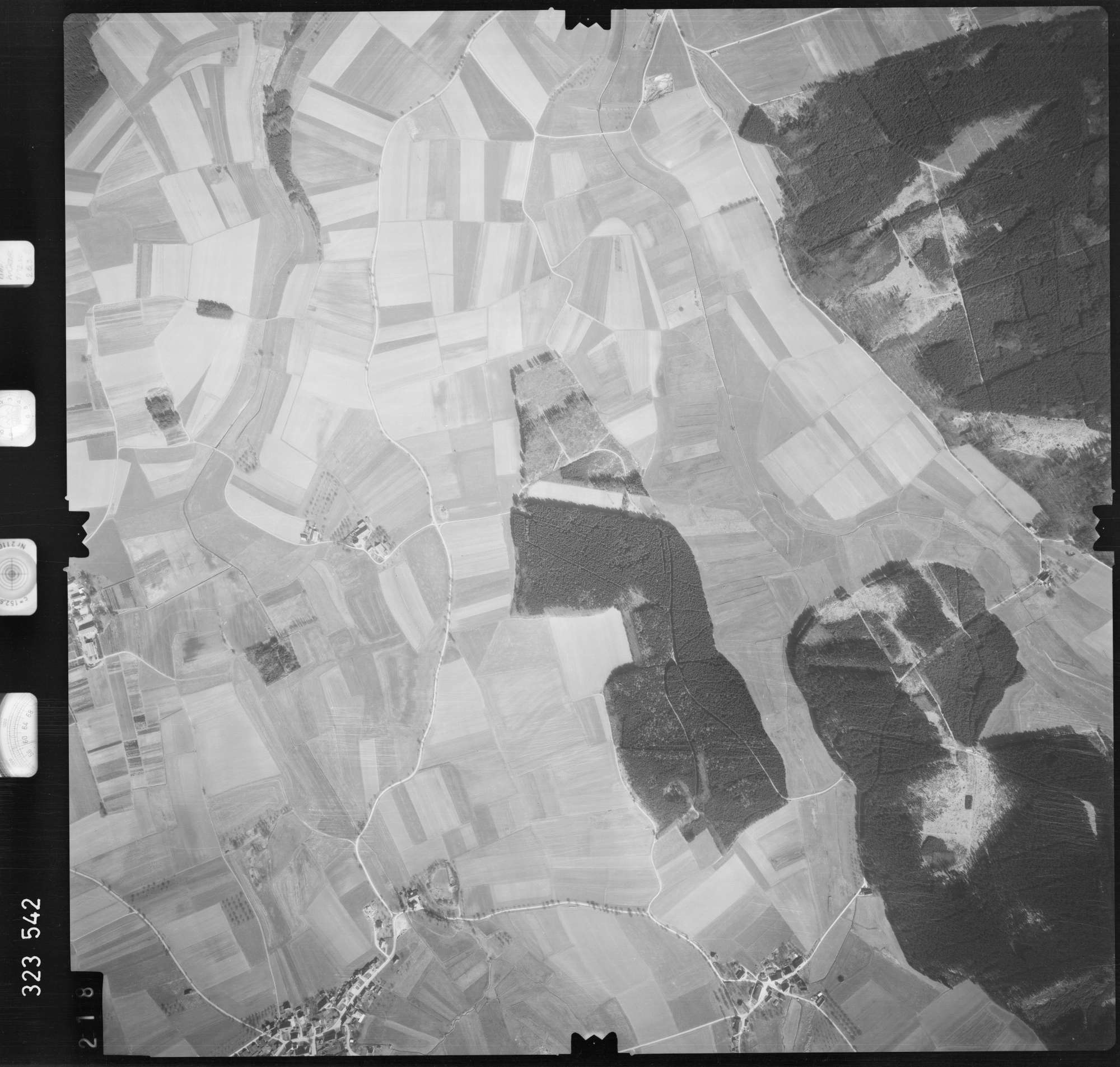 Luftbild: Film 53 Bildnr. 218, Bild 1
