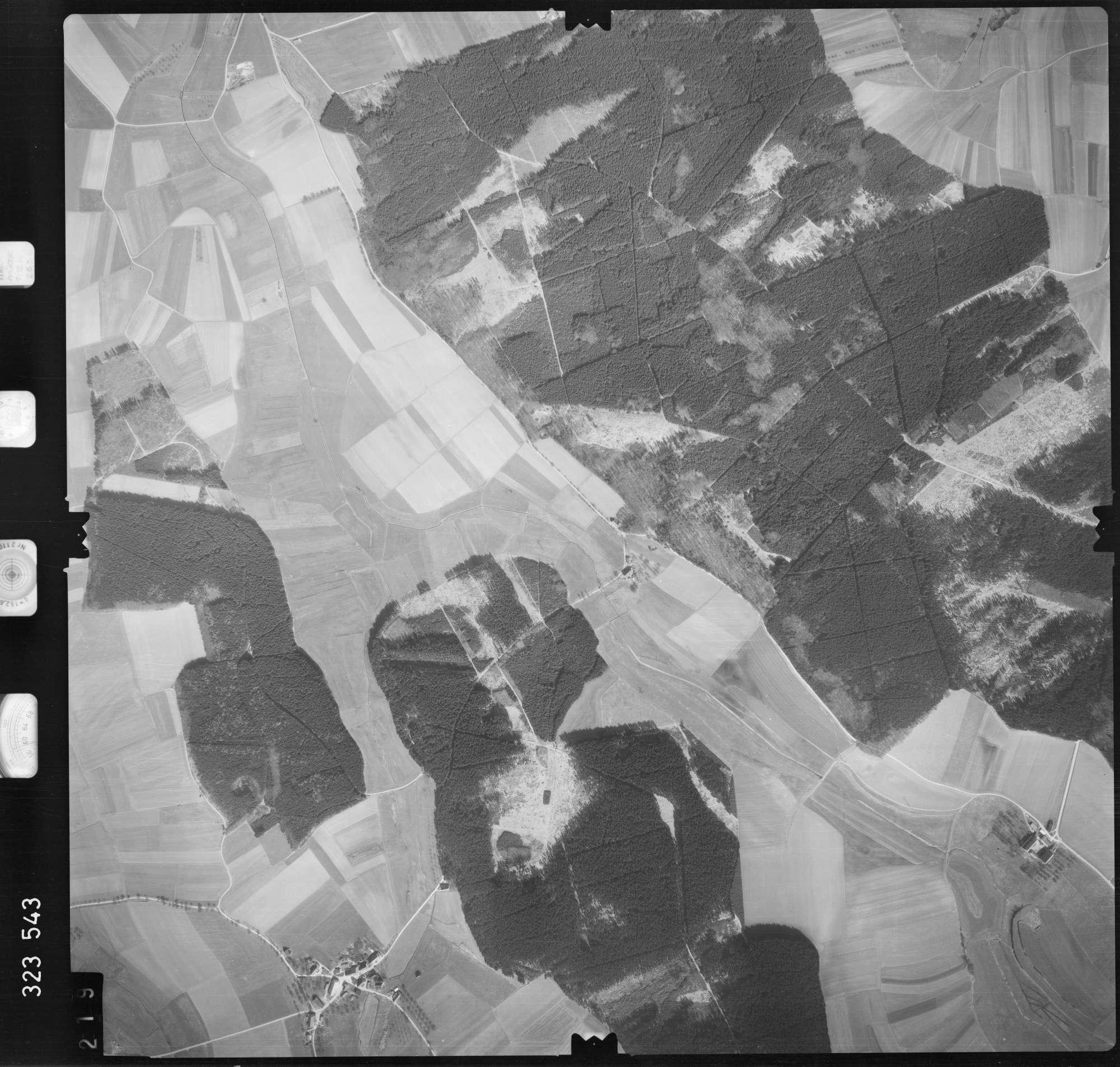 Luftbild: Film 53 Bildnr. 219, Bild 1