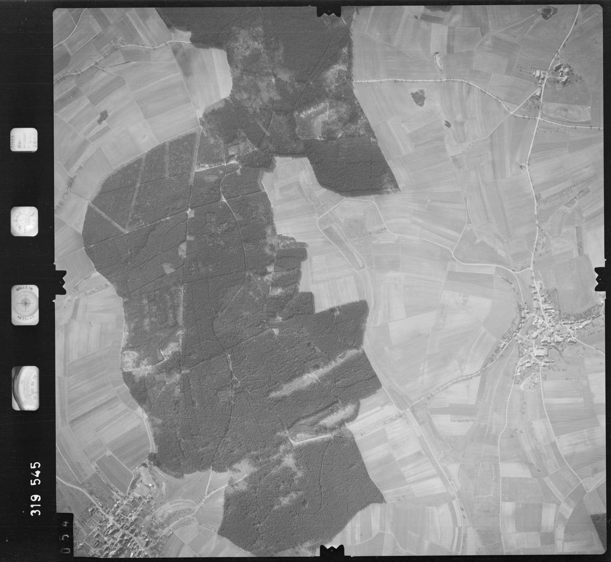 Luftbild: Film 57 Bildnr. 54, Bild 1