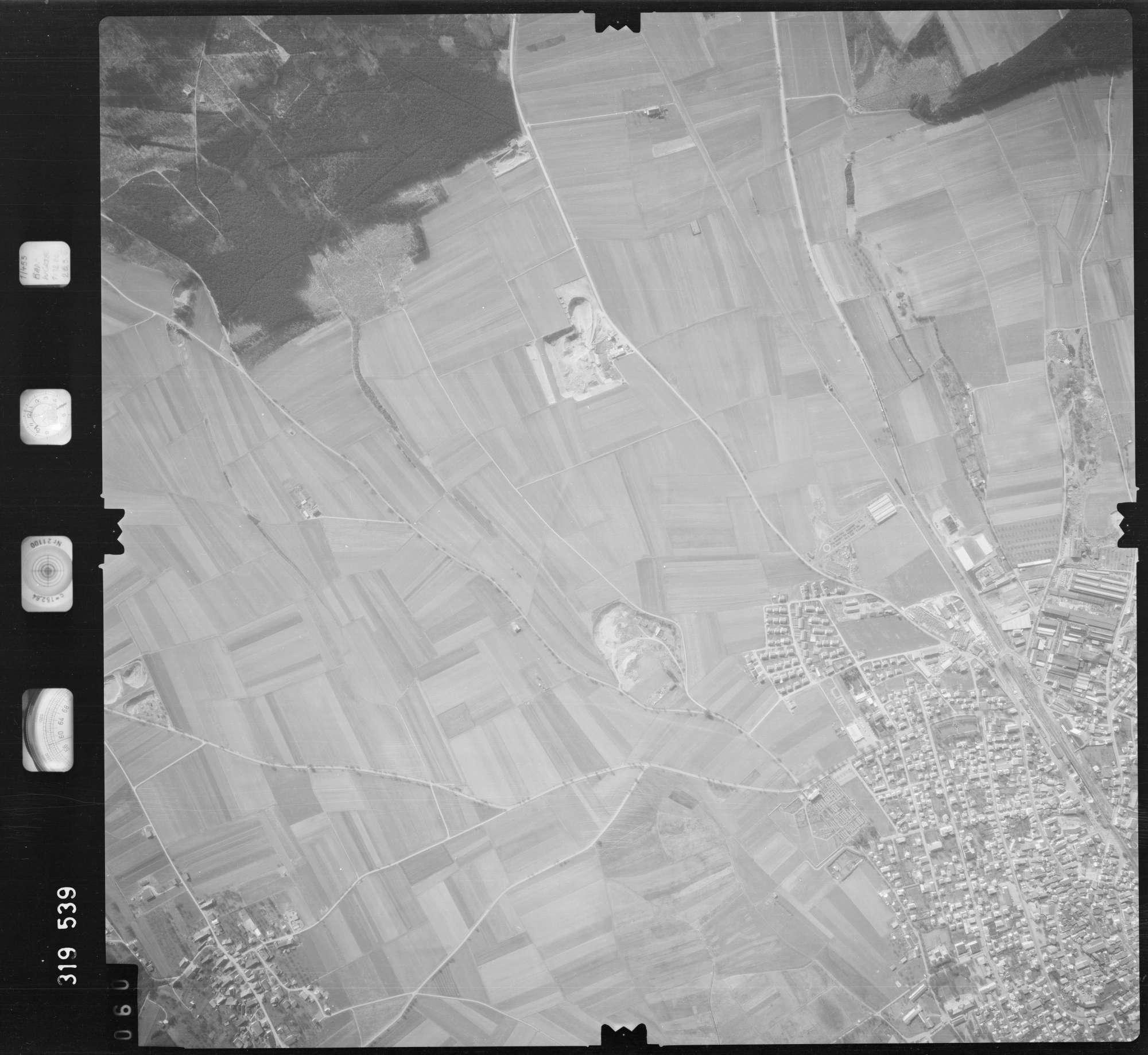 Luftbild: Film 57 Bildnr. 60, Bild 1