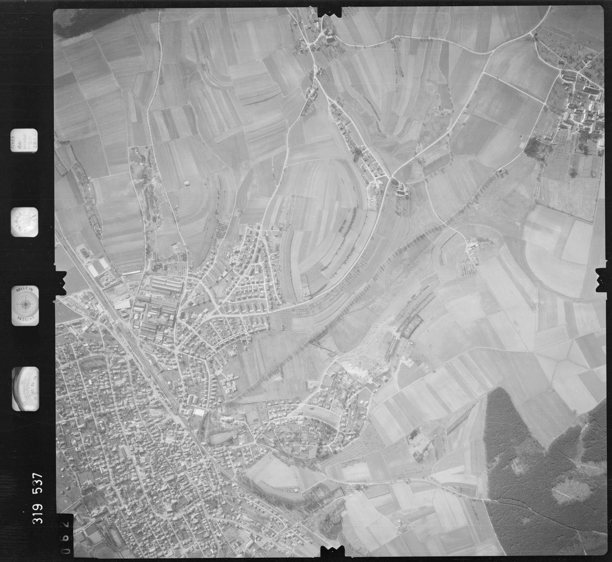 Luftbild: Film 57 Bildnr. 62, Bild 1