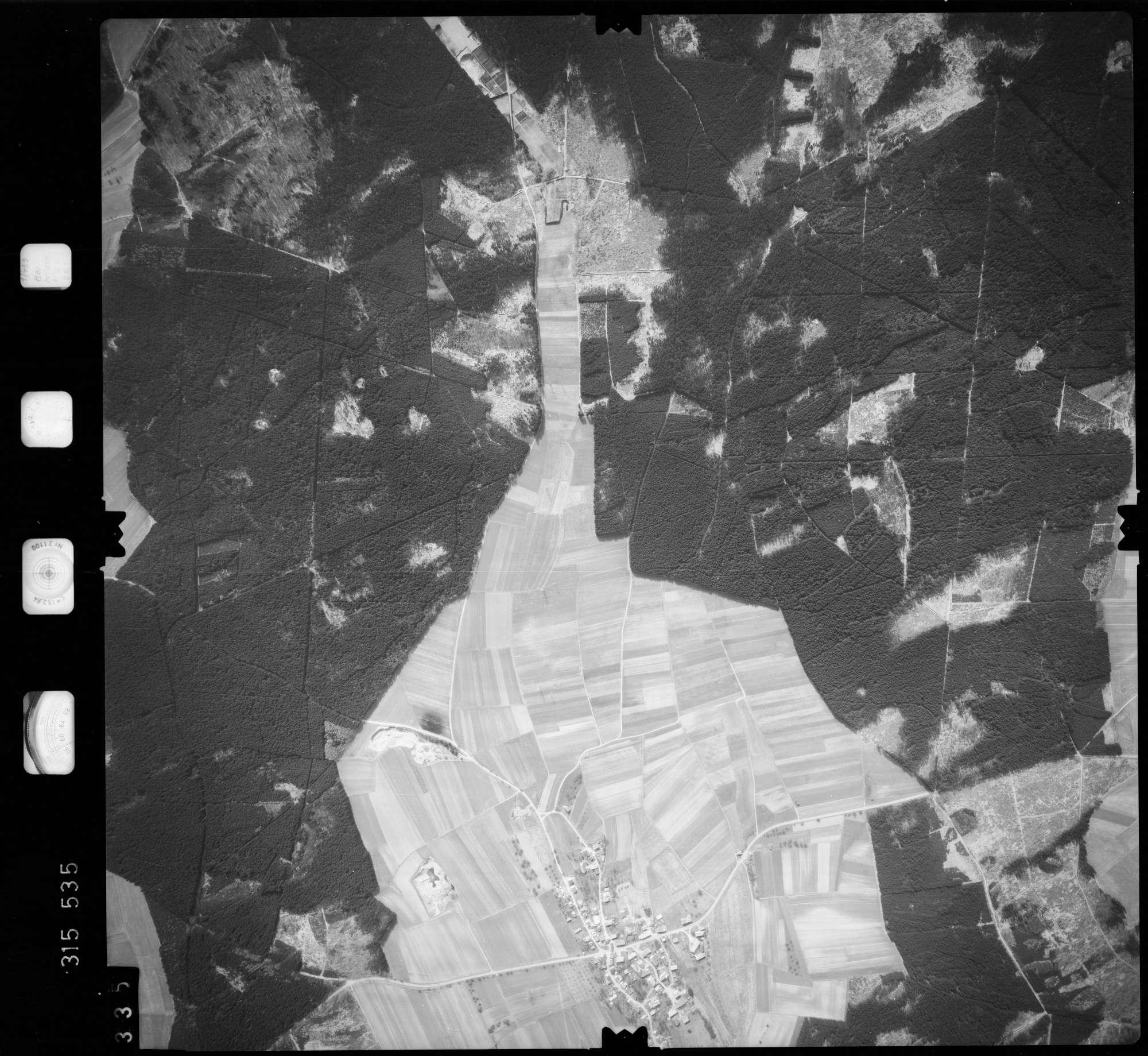 Luftbild: Film 58 Bildnr. 335, Bild 1
