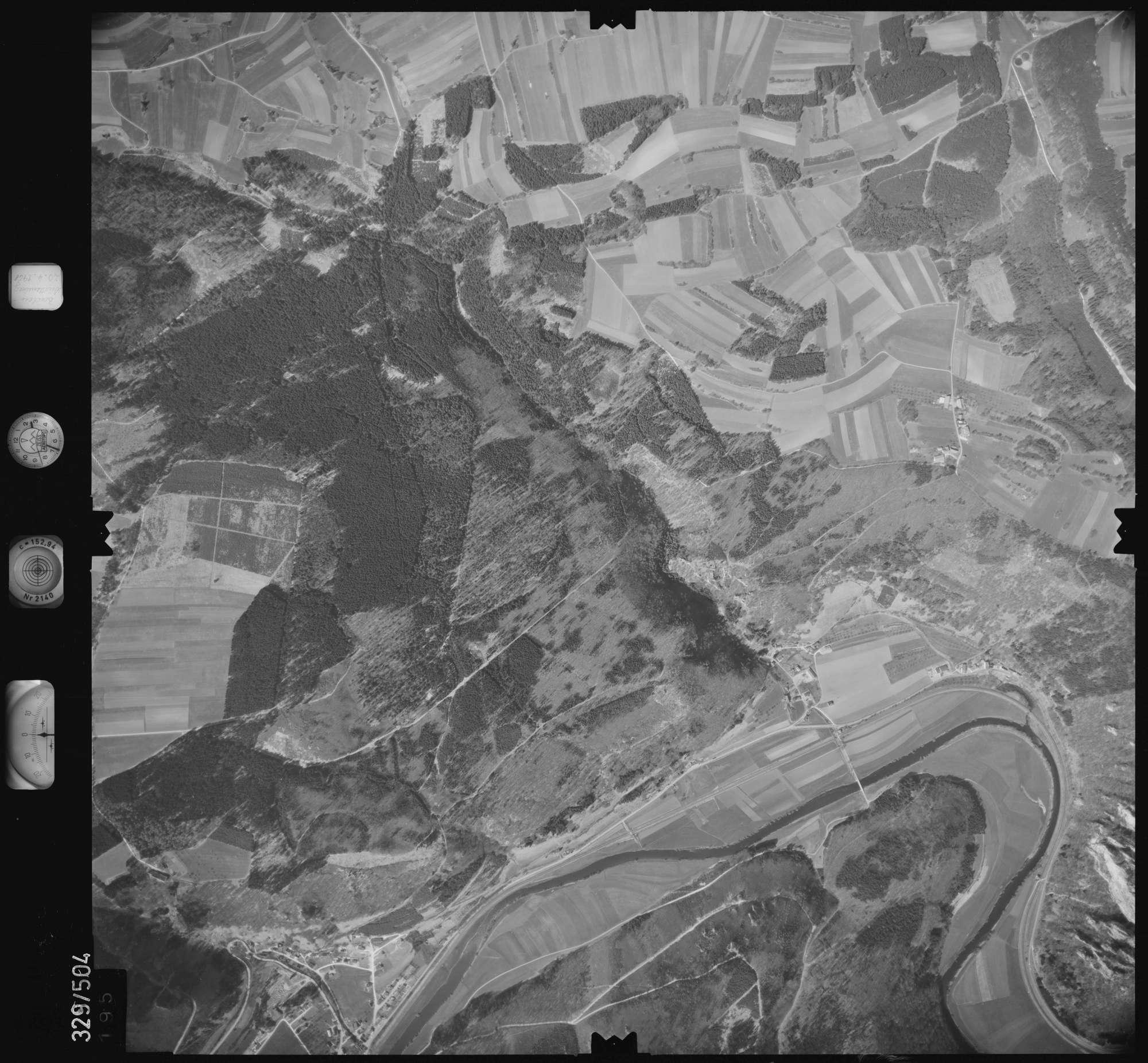 Luftbild: Film 15 Bildnr. 195, Bild 1