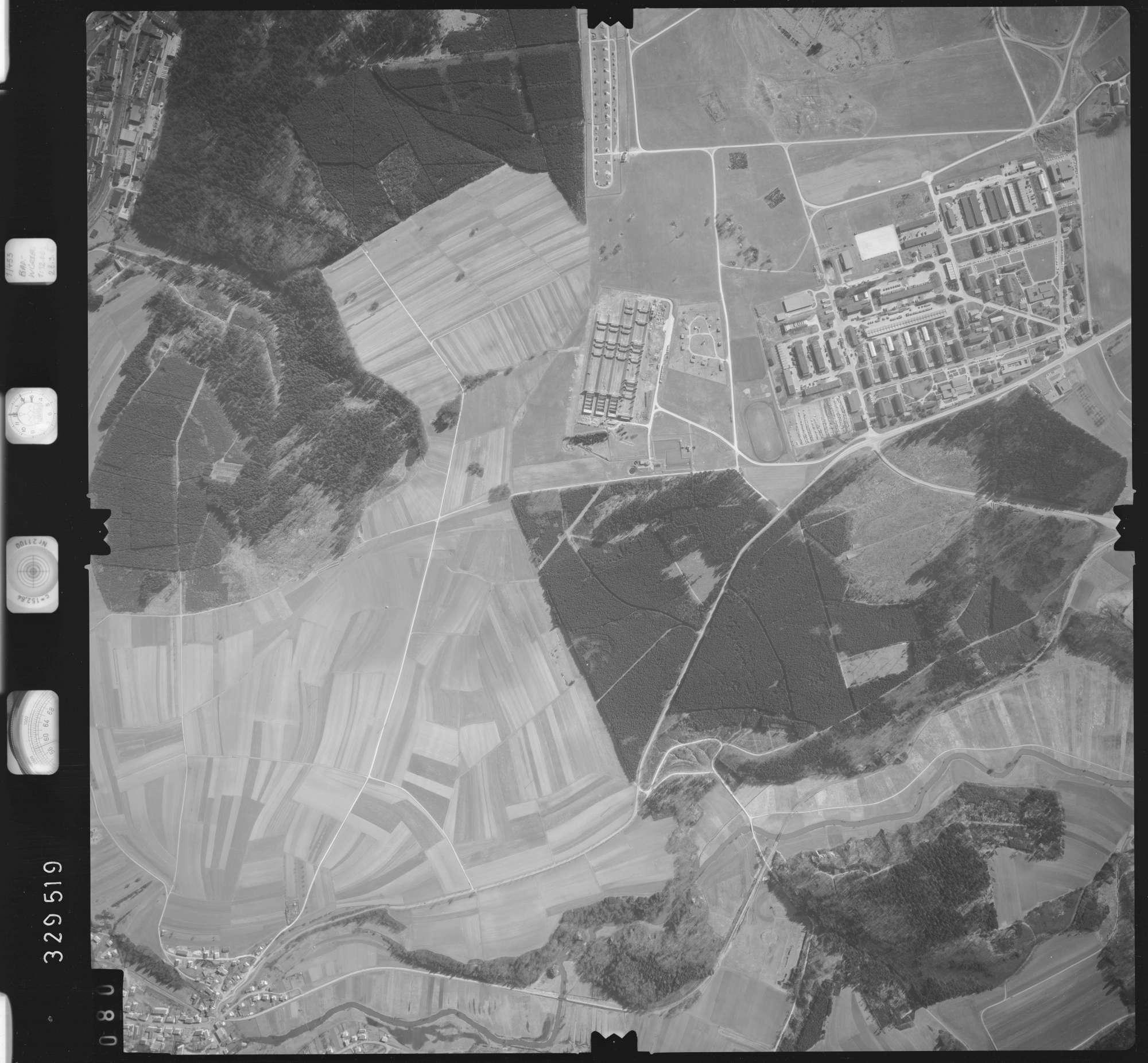 Luftbild: Film 51 Bildnr. 80, Bild 1