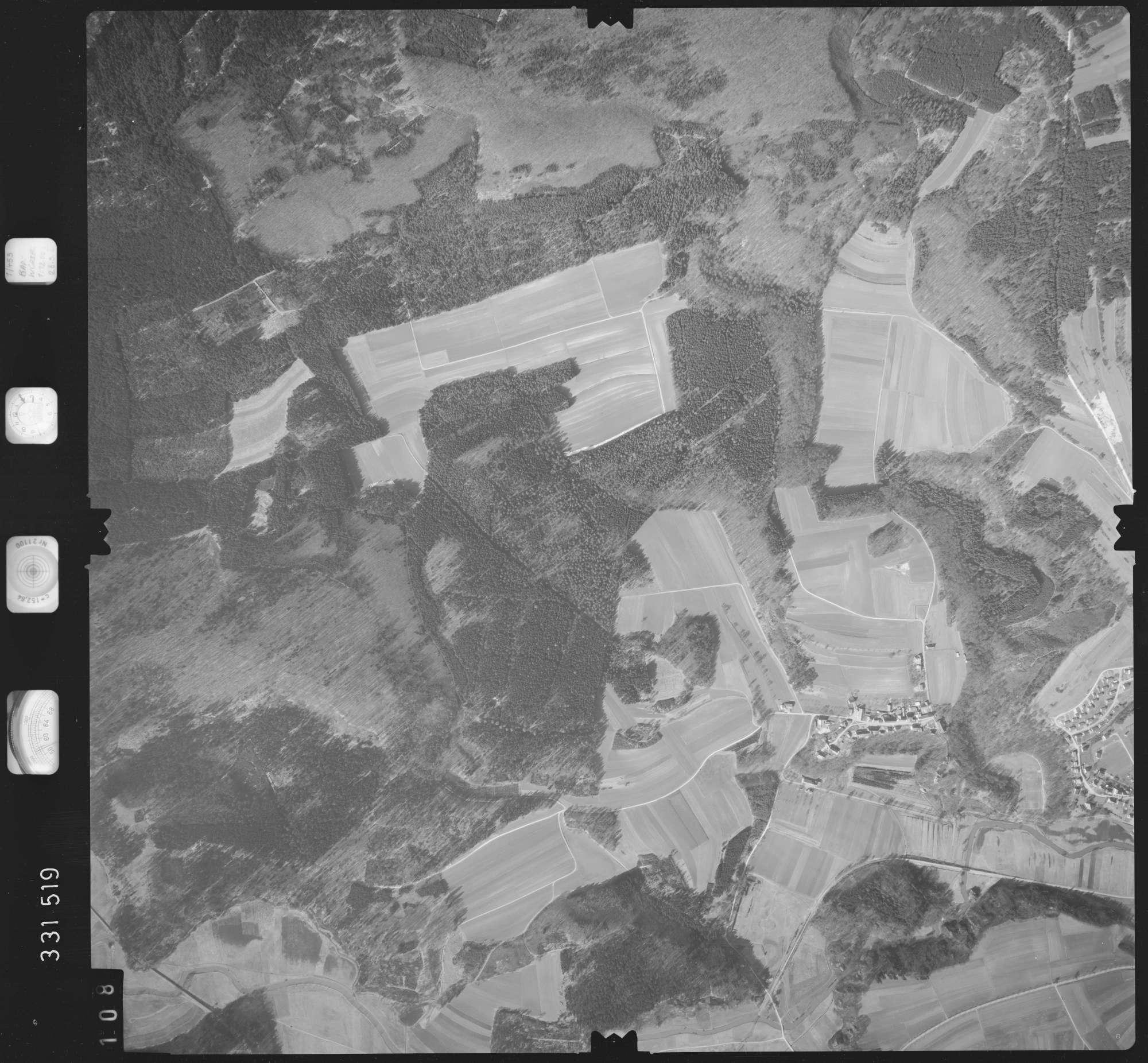 Luftbild: Film 51 Bildnr. 108, Bild 1