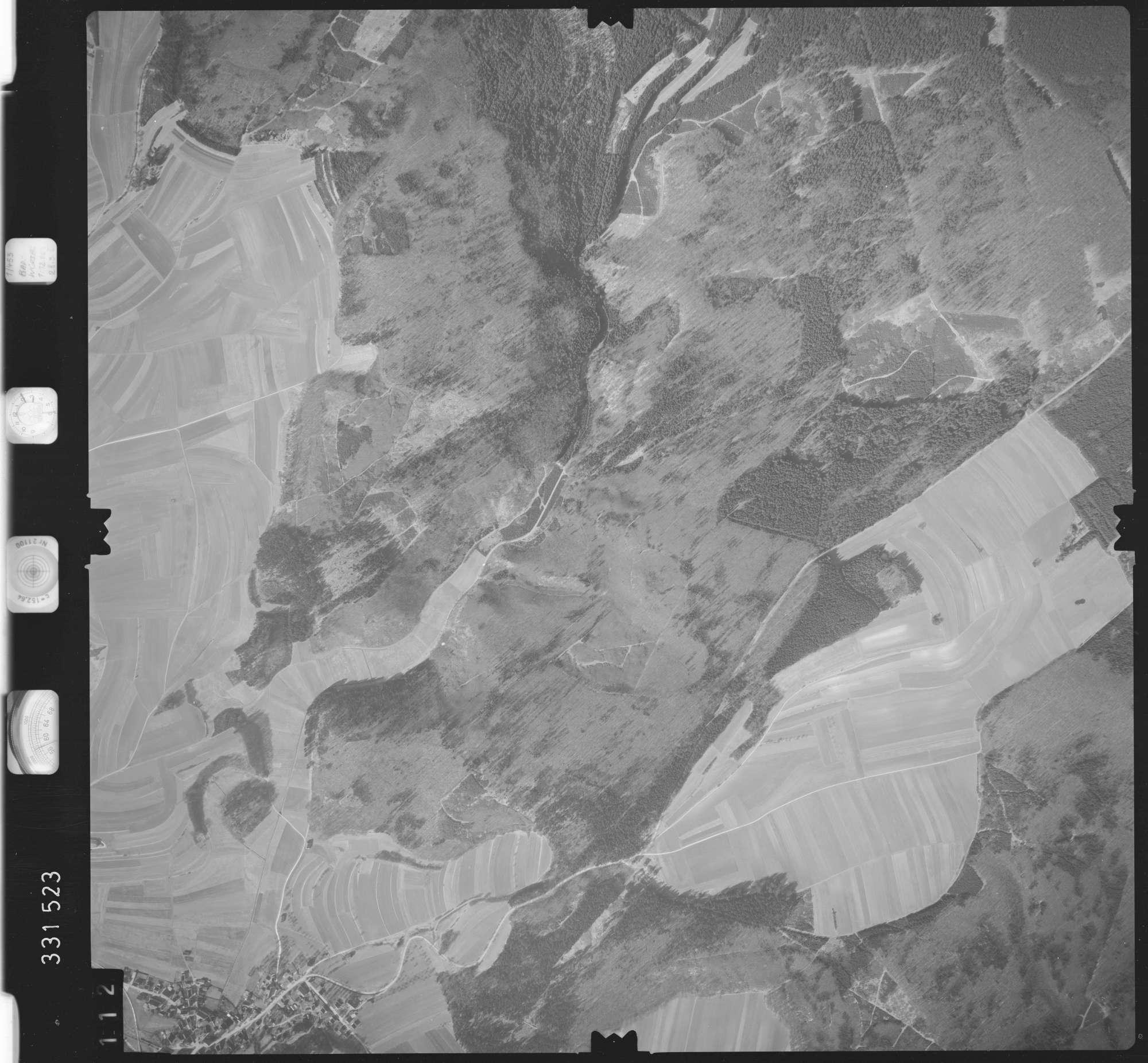 Luftbild: Film 51 Bildnr. 112, Bild 1