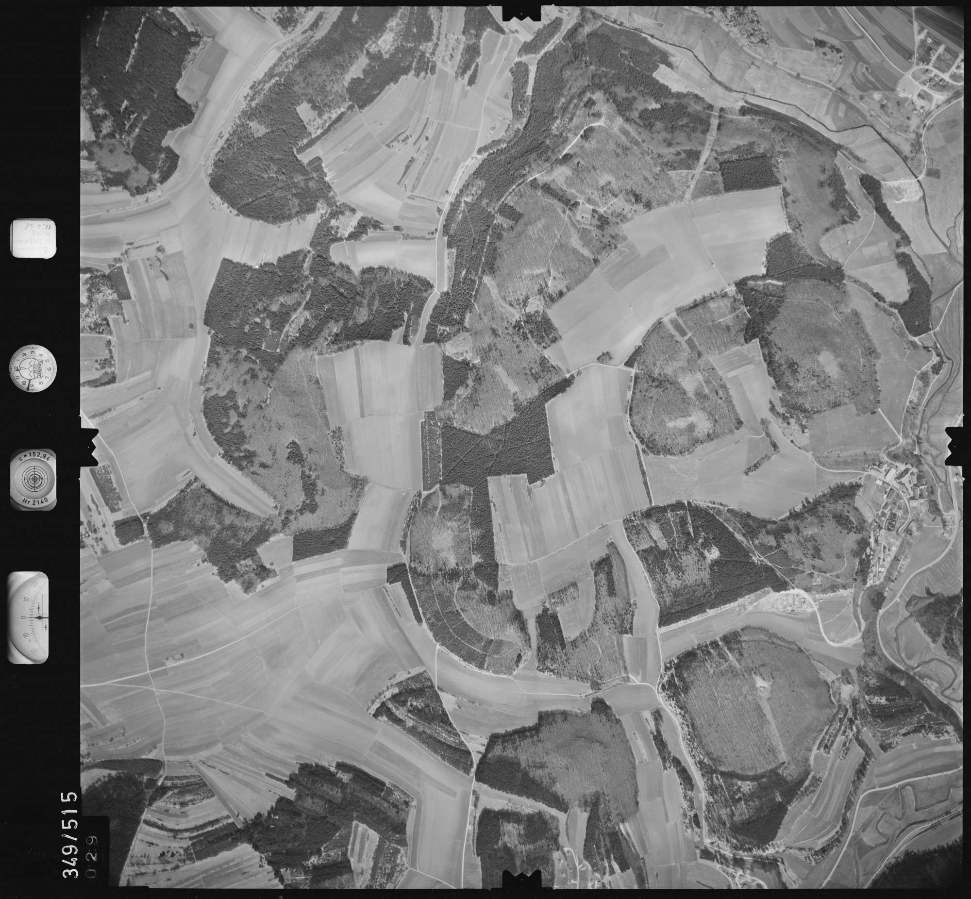 Luftbild: Film 45 Bildnr. 29, Bild 1