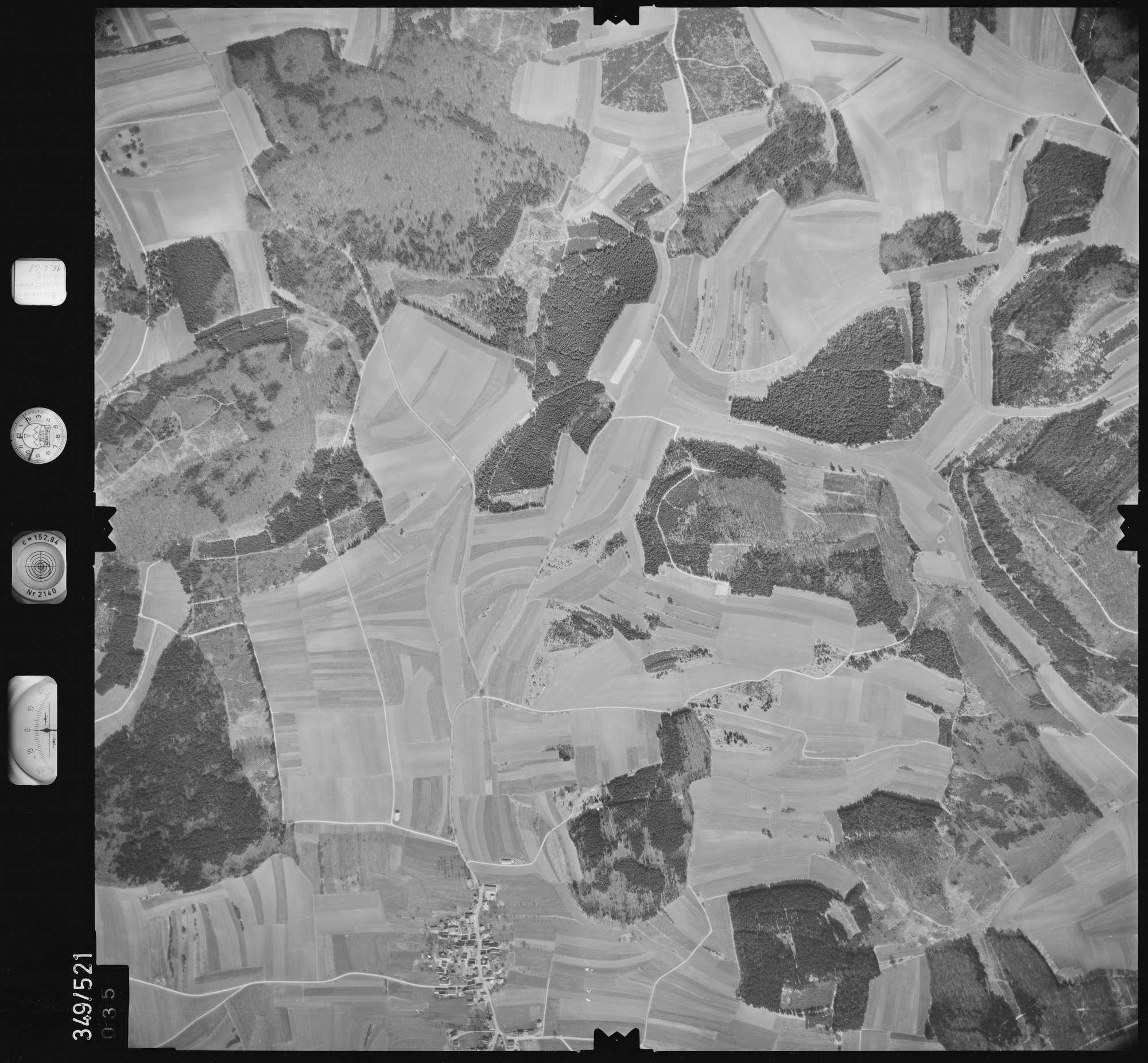 Luftbild: Film 45 Bildnr. 35, Bild 1