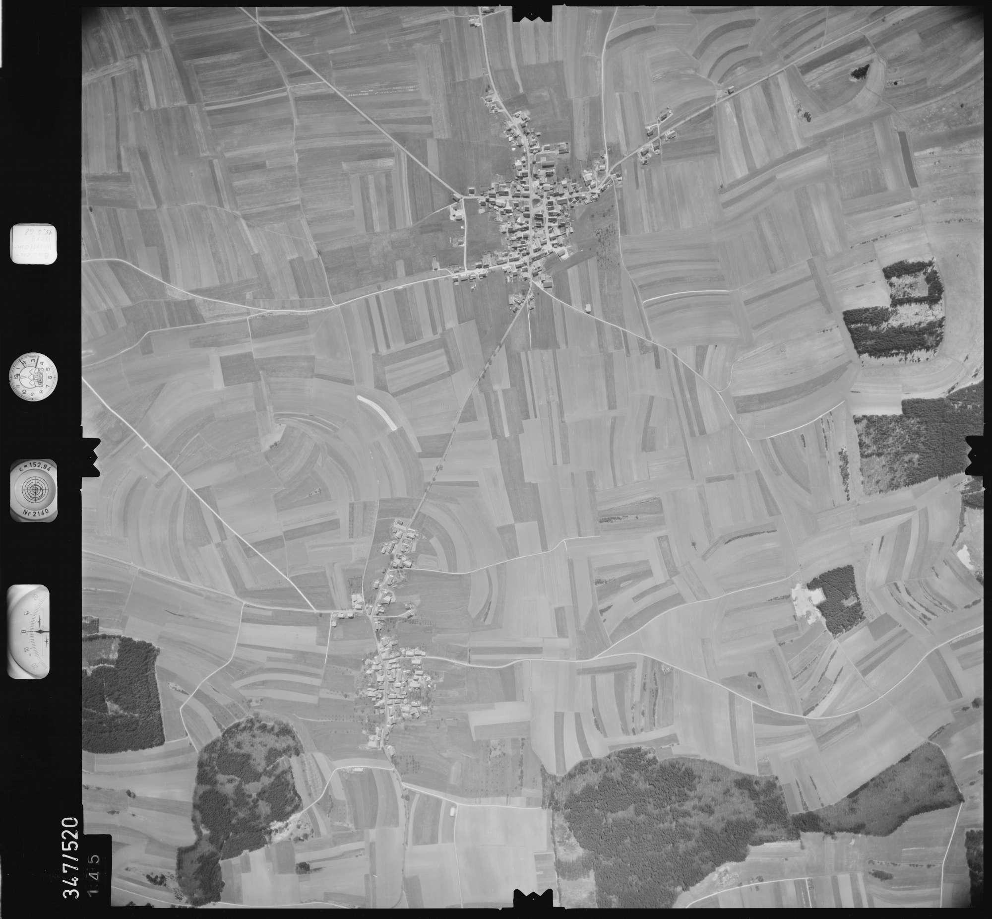 Luftbild: Film 45 Bildnr. 145, Bild 1