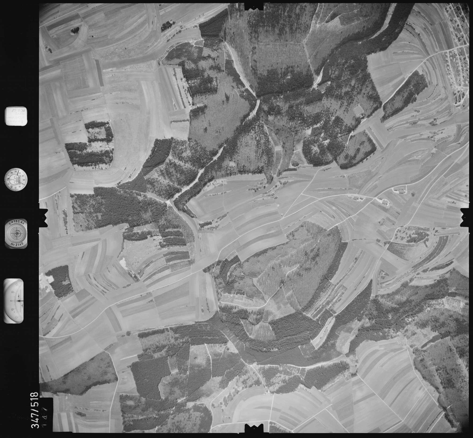Luftbild: Film 45 Bildnr. 147, Bild 1
