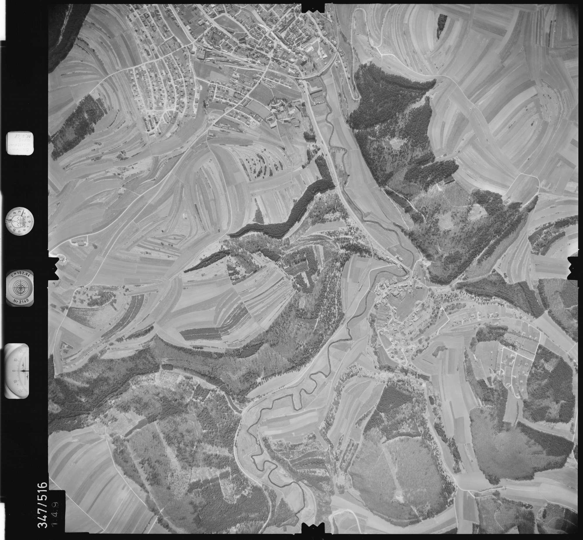 Luftbild: Film 45 Bildnr. 149, Bild 1