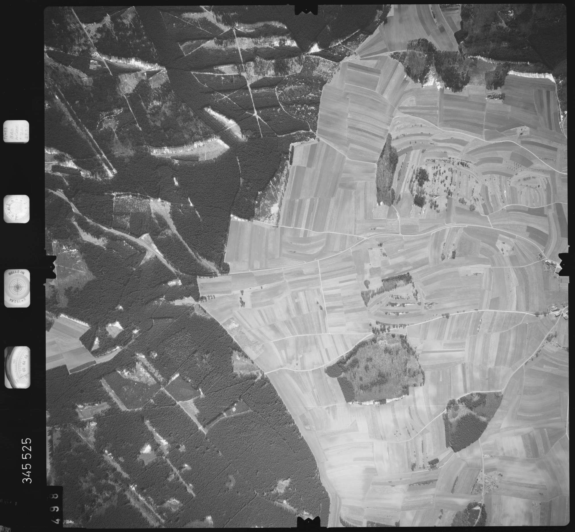 Luftbild: Film 46 Bildnr. 498, Bild 1