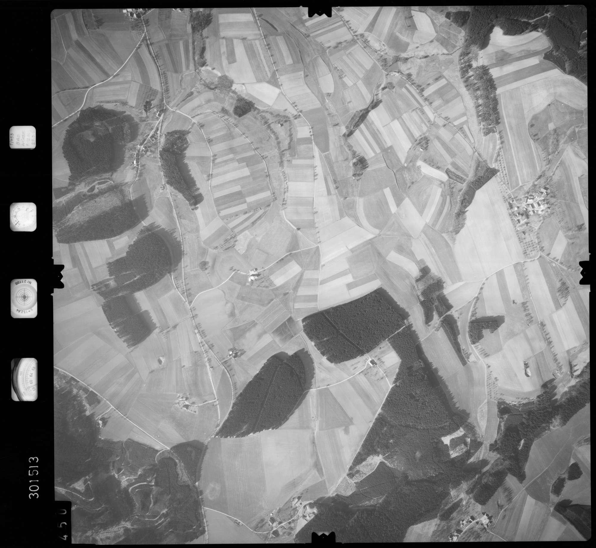 Luftbild: Film 64 Bildnr. 450, Bild 1