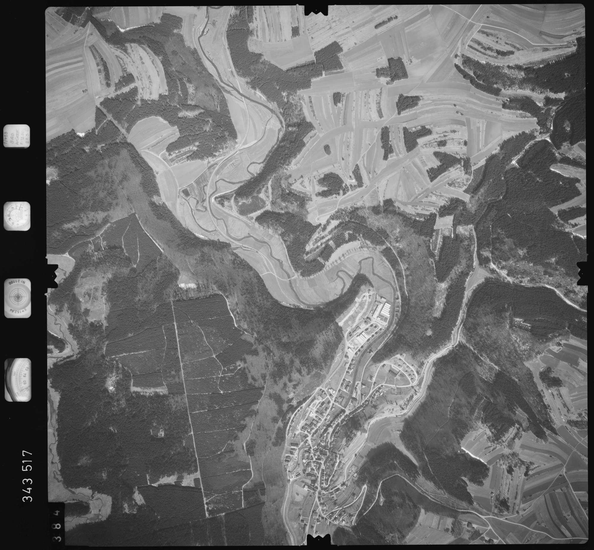 Luftbild: Film 46 Bildnr. 384, Bild 1