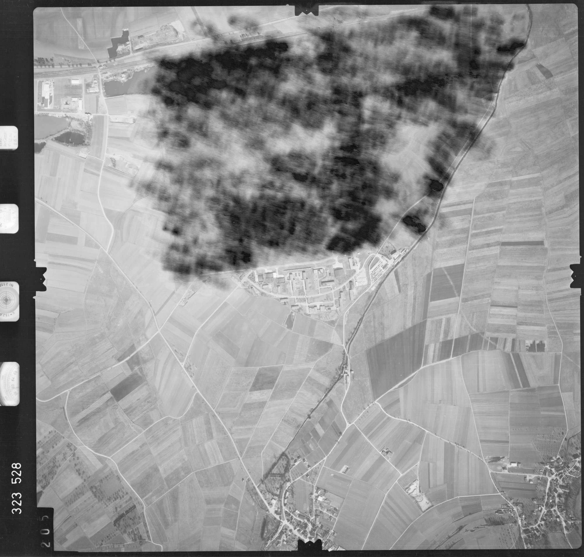 Luftbild: Film 53 Bildnr. 205, Bild 1