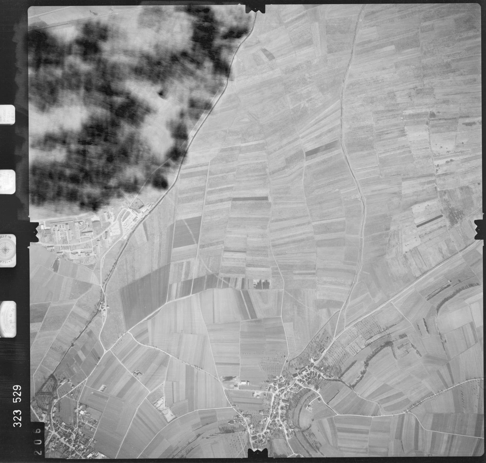 Luftbild: Film 53 Bildnr. 206, Bild 1
