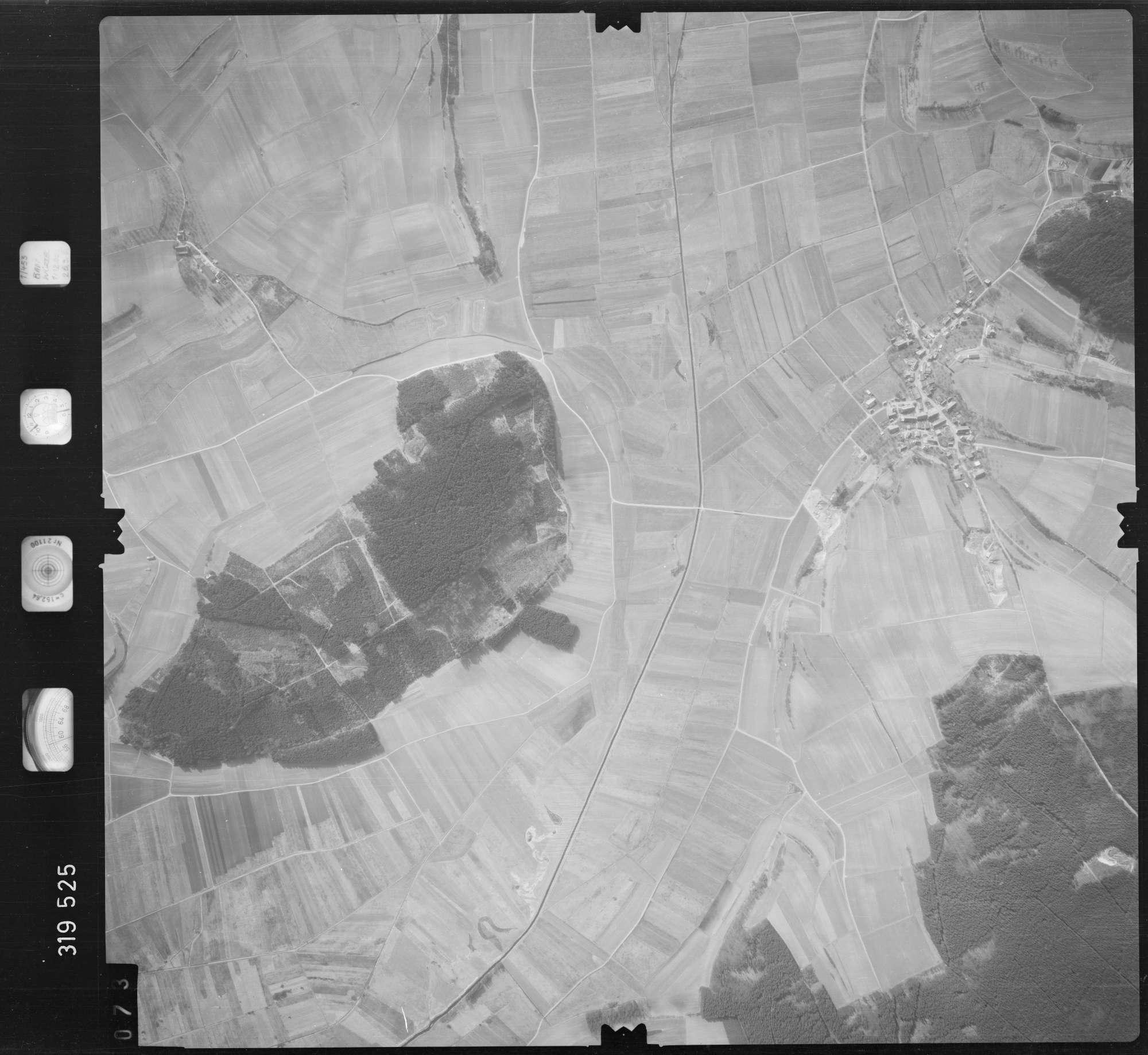 Luftbild: Film 57 Bildnr. 73, Bild 1