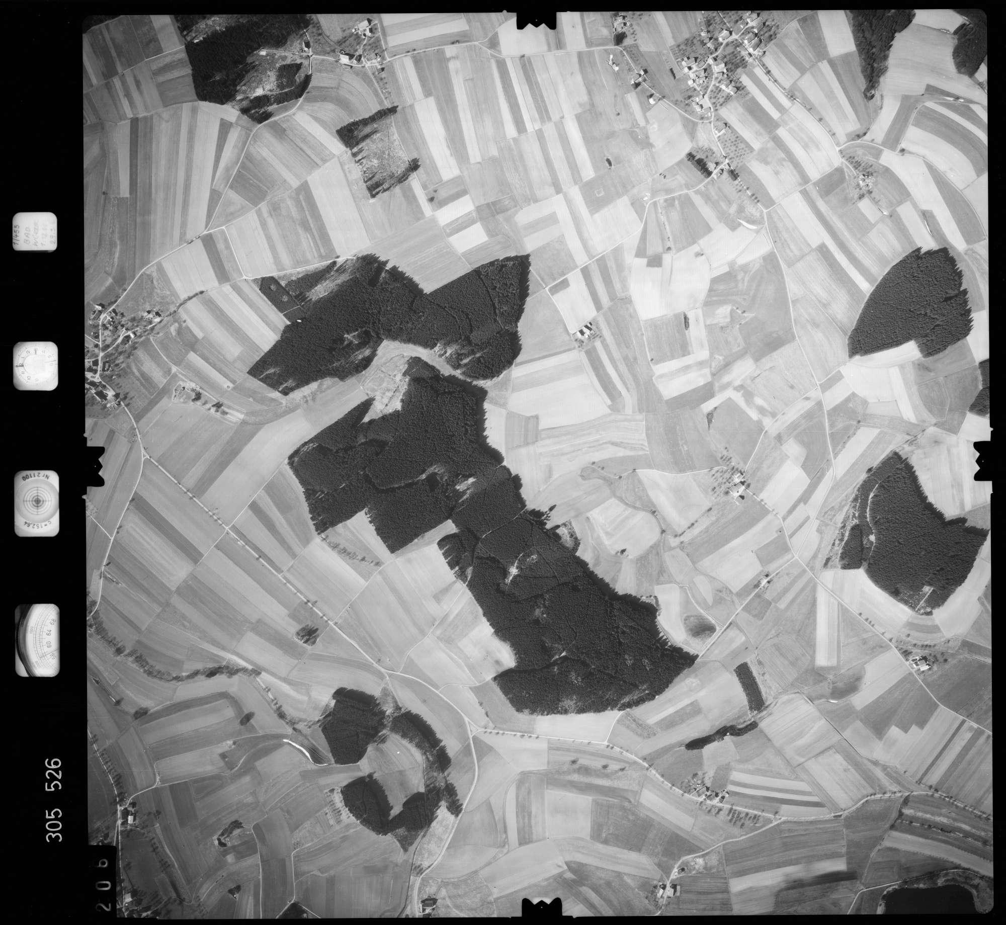 Luftbild: Film 61 Bildnr. 206, Bild 1