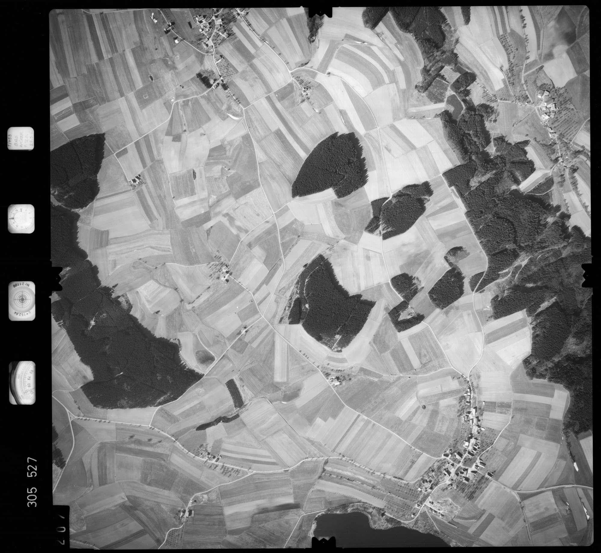 Luftbild: Film 61 Bildnr. 207, Bild 1