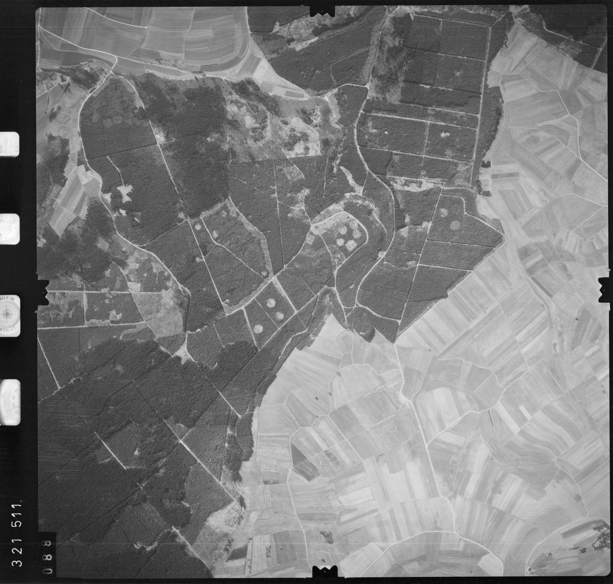 Luftbild: Film 53 Bildnr. 88, Bild 1