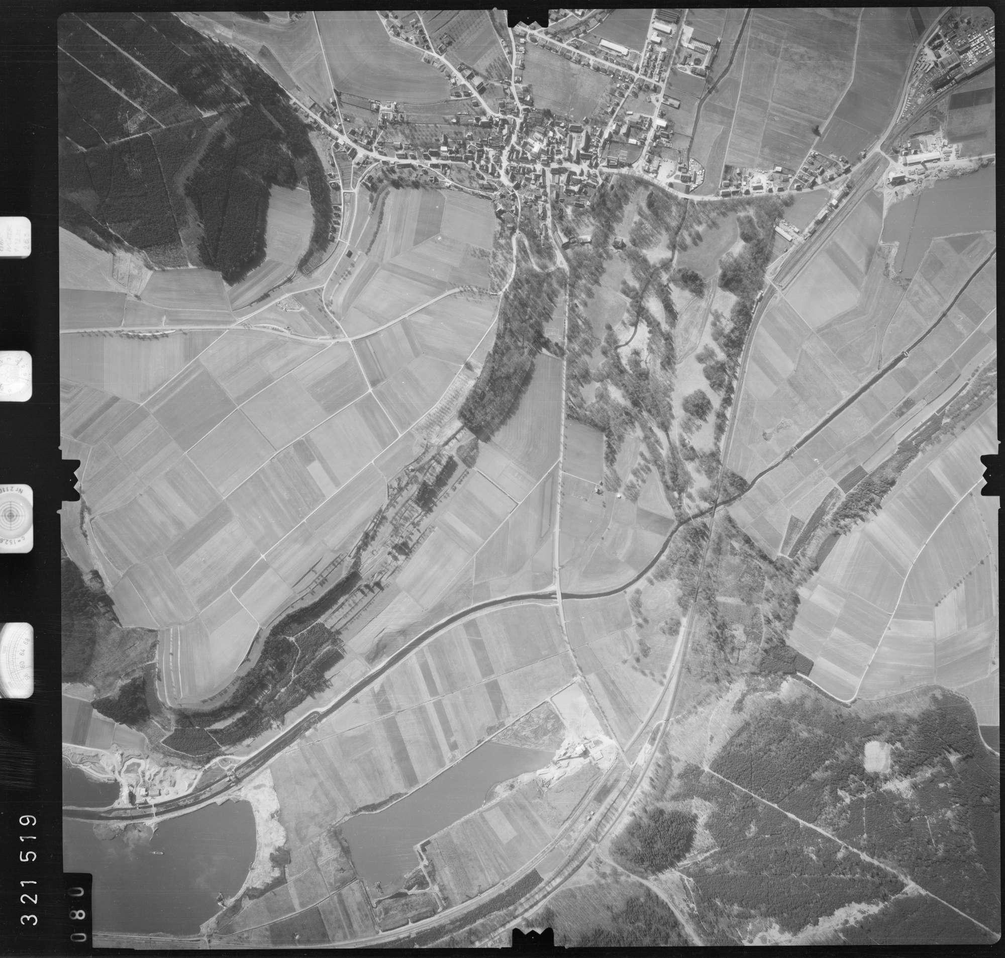 Luftbild: Film 53 Bildnr. 80, Bild 1