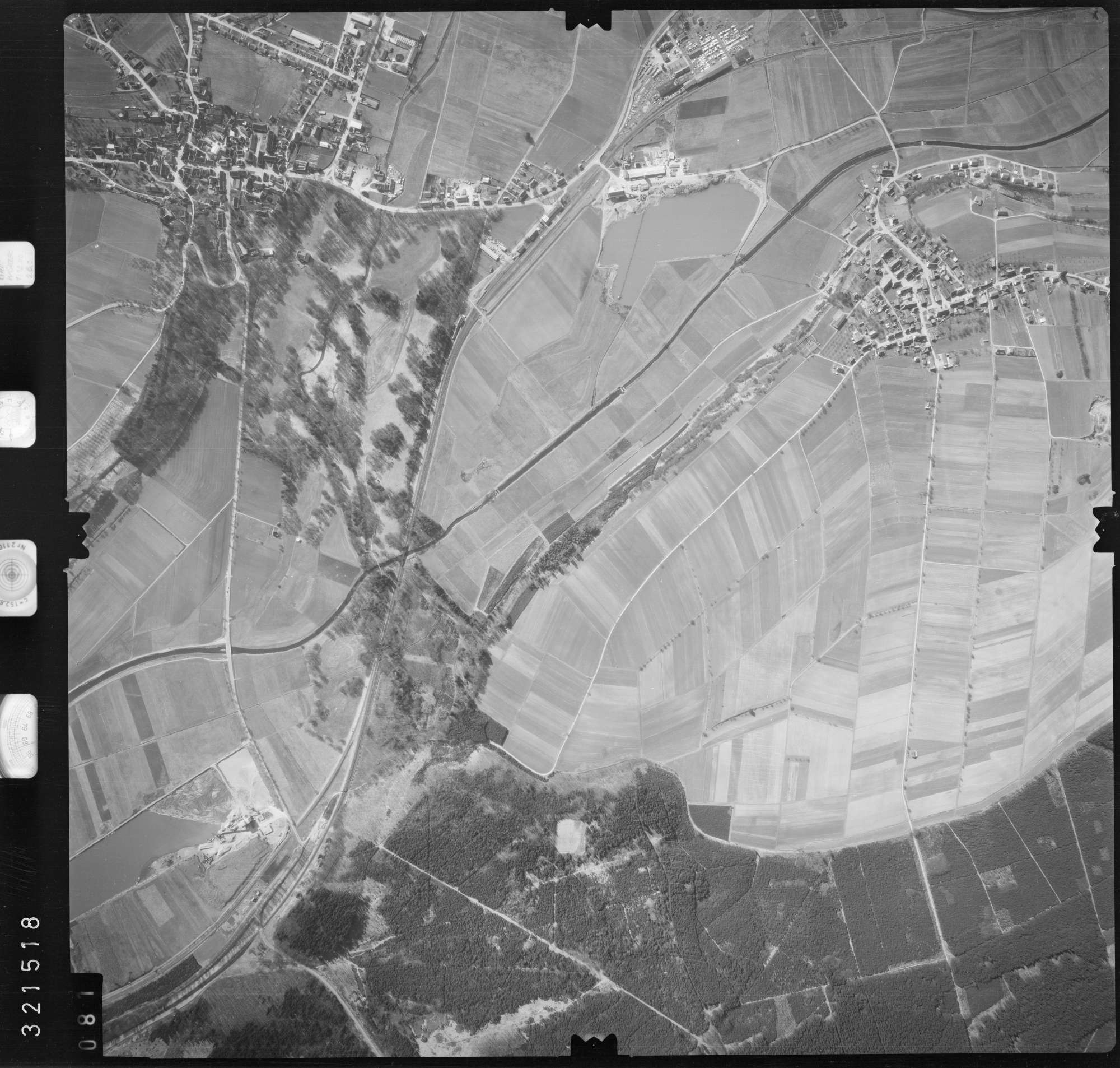 Luftbild: Film 53 Bildnr. 81, Bild 1