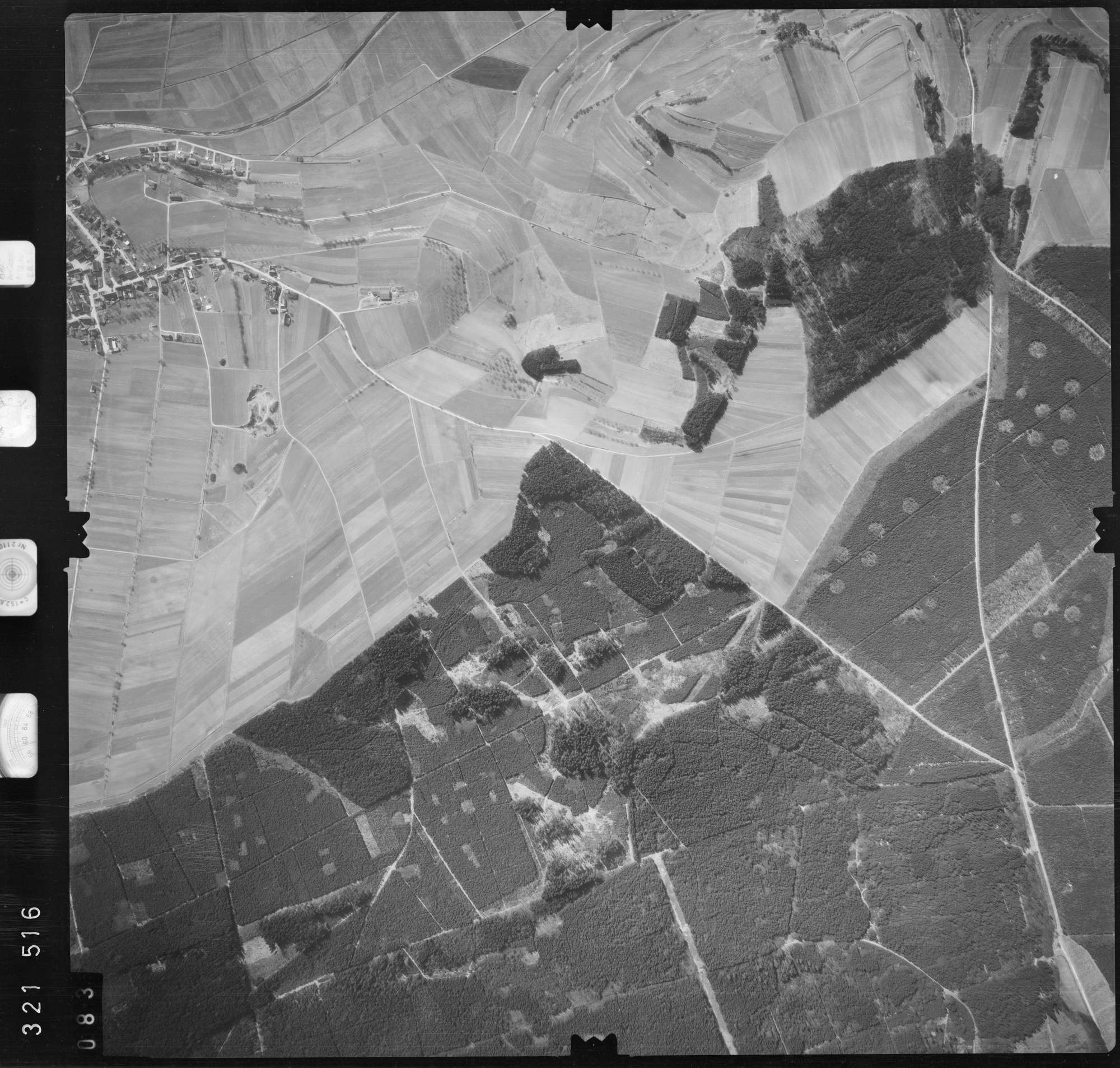Luftbild: Film 53 Bildnr. 83, Bild 1