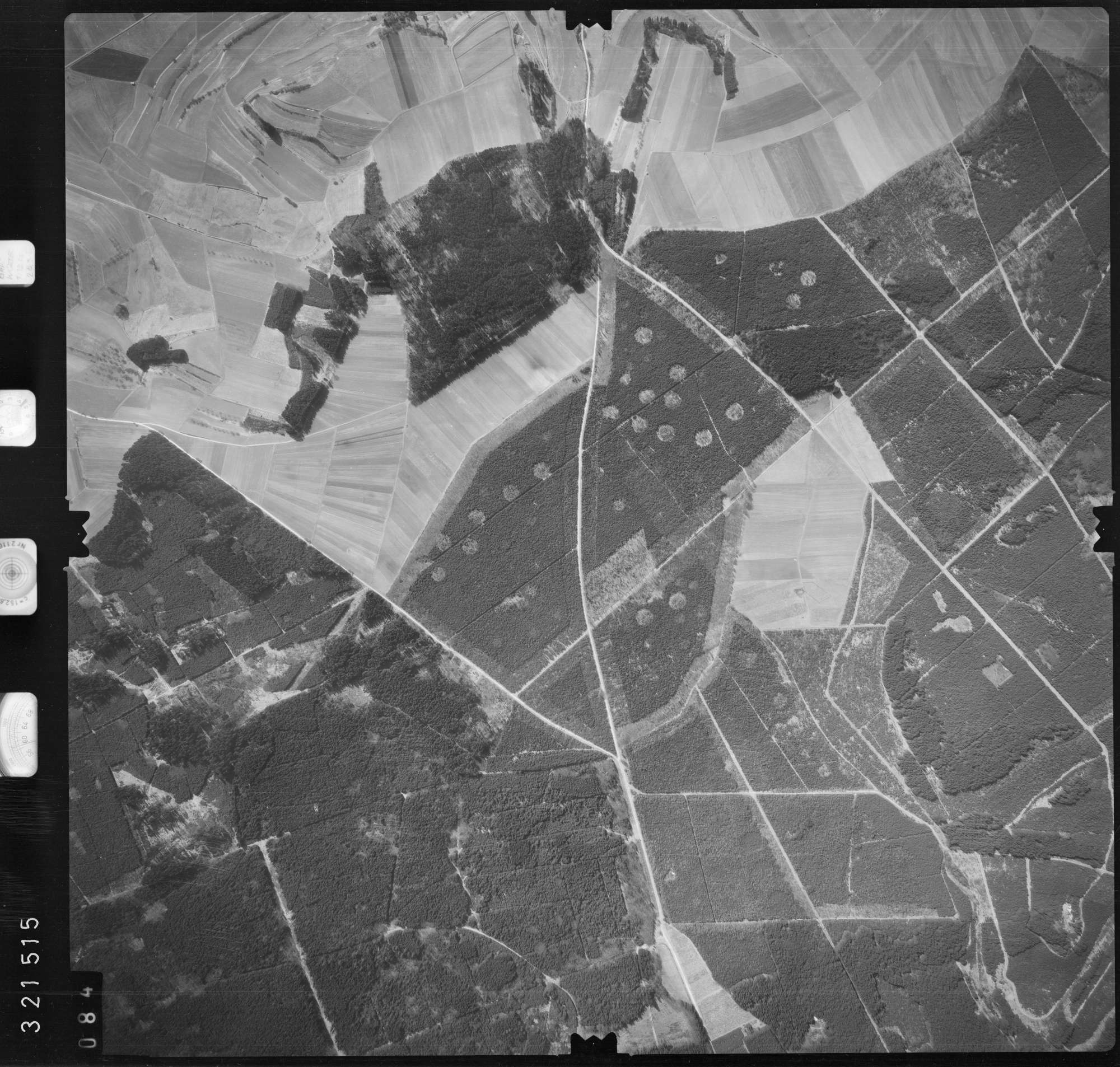 Luftbild: Film 53 Bildnr. 84, Bild 1