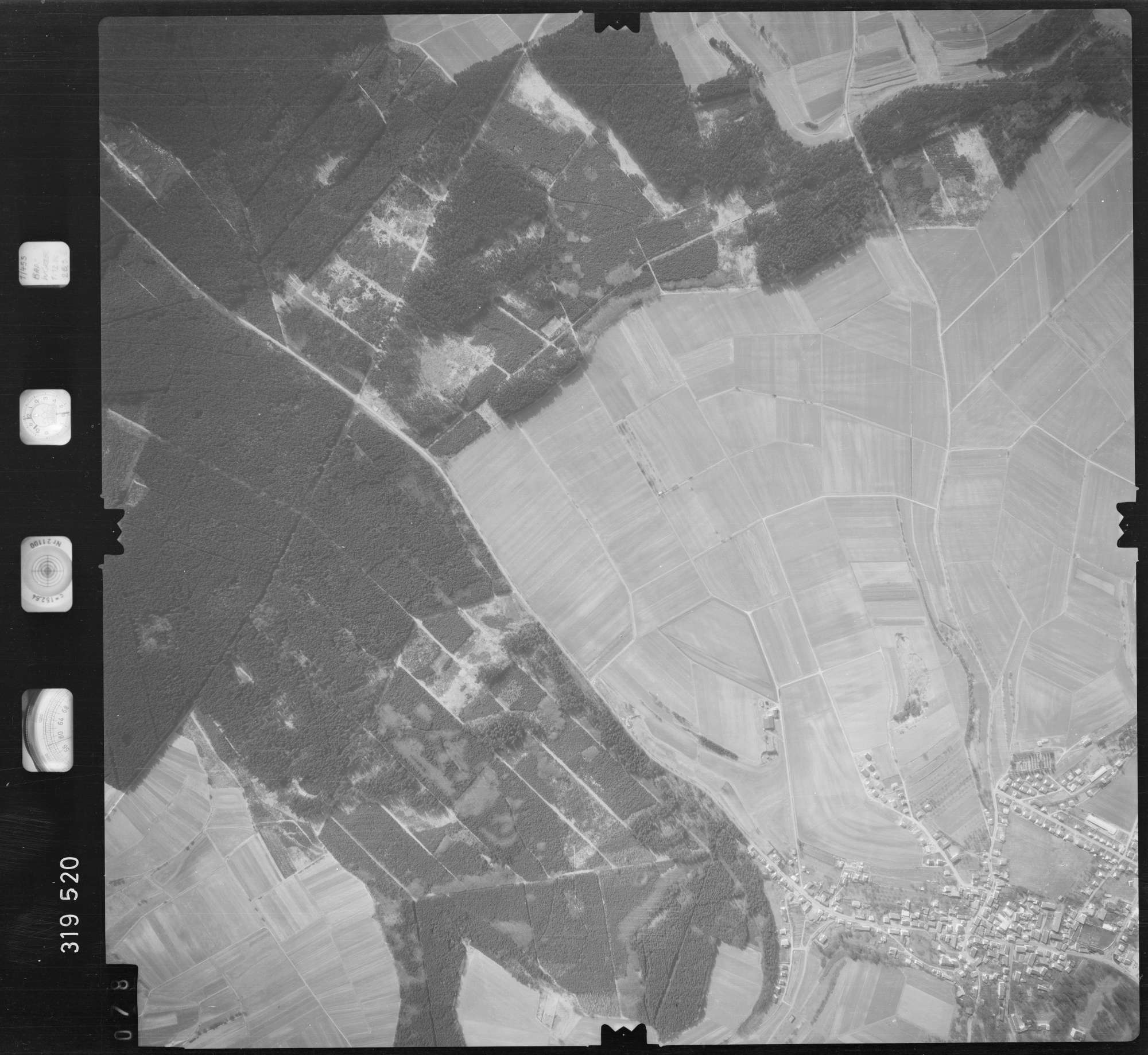 Luftbild: Film 57 Bildnr. 78, Bild 1