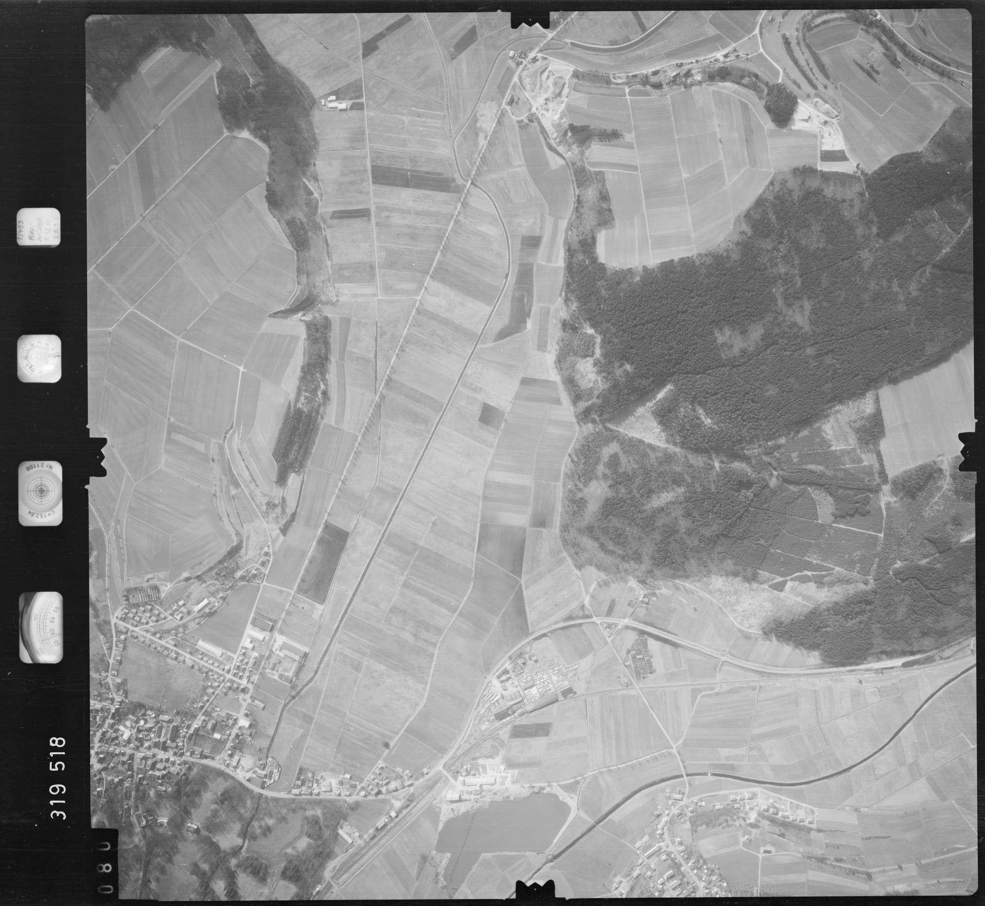 Luftbild: Film 57 Bildnr. 80, Bild 1