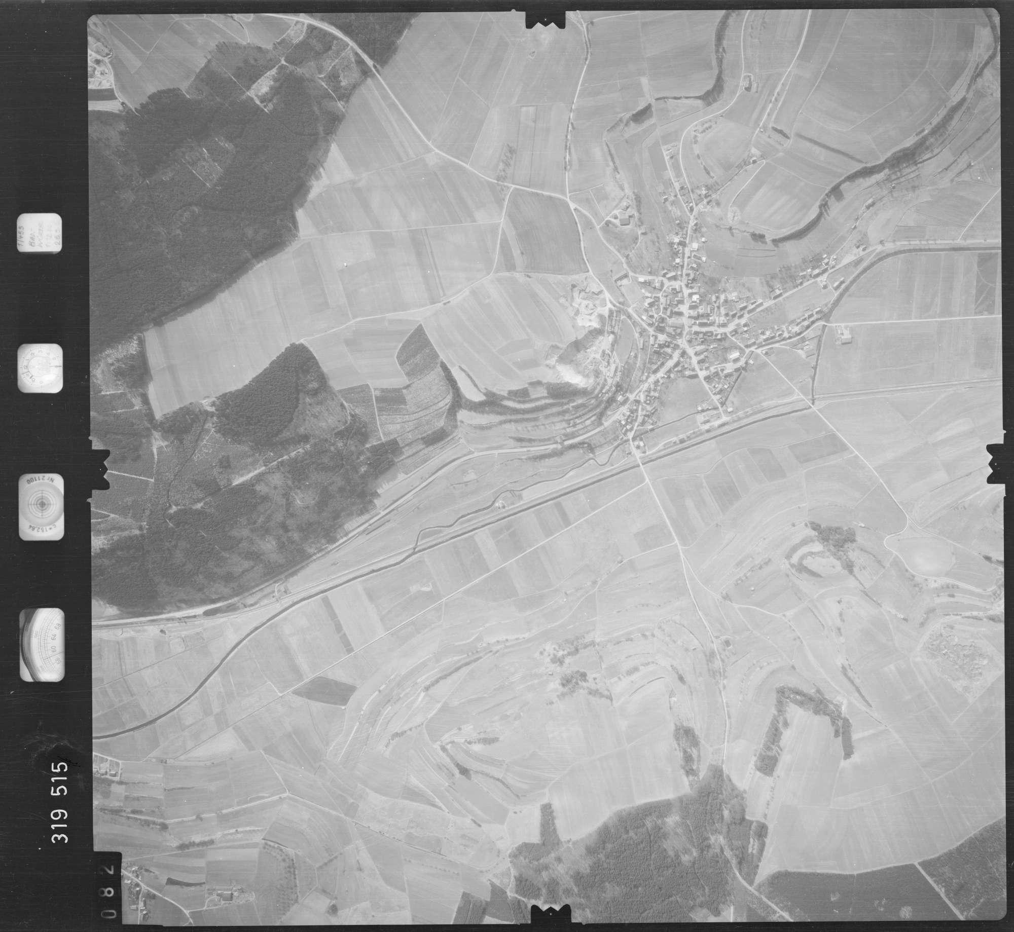 Luftbild: Film 57 Bildnr. 82, Bild 1