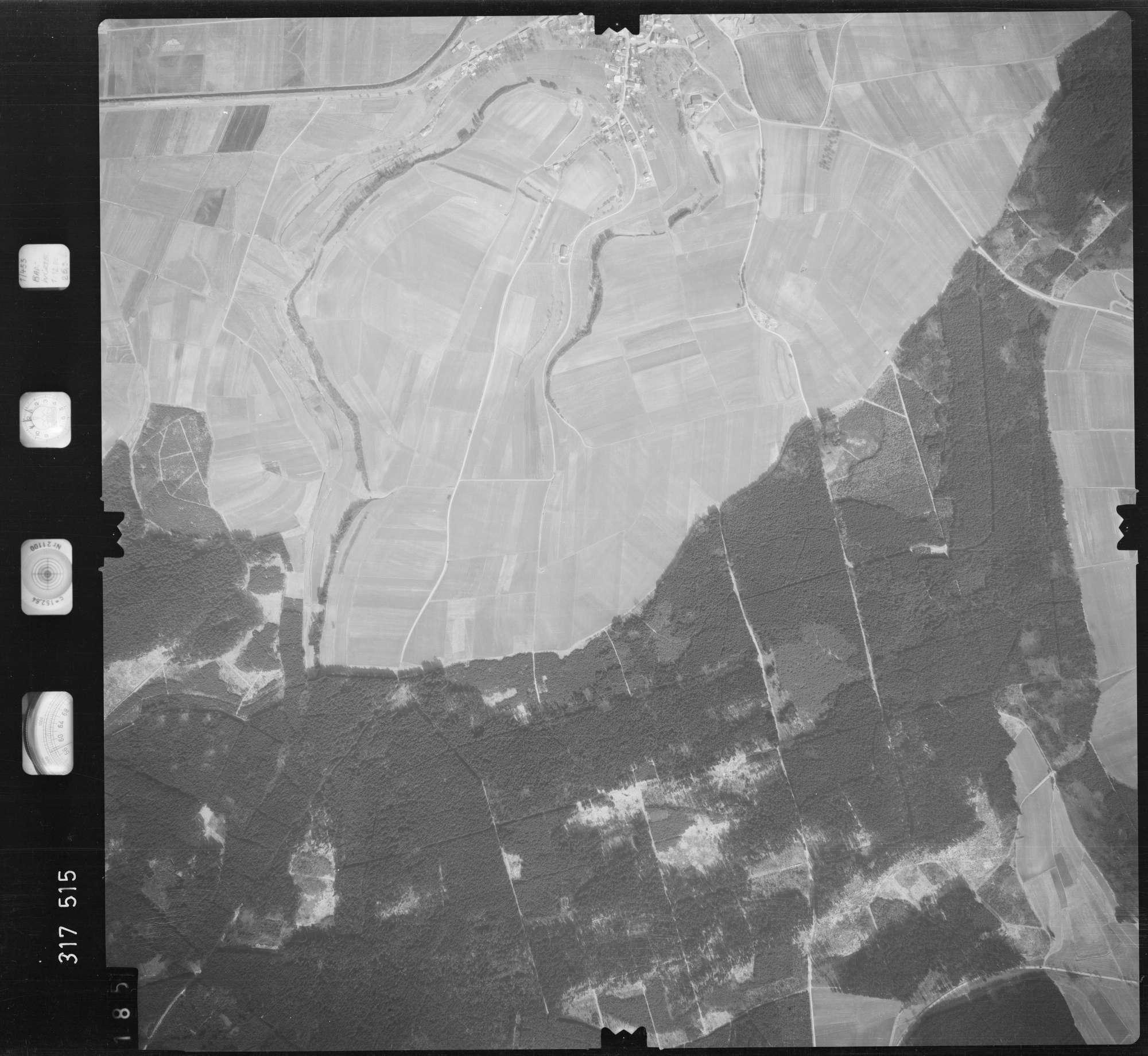 Luftbild: Film 57 Bildnr. 185, Bild 1