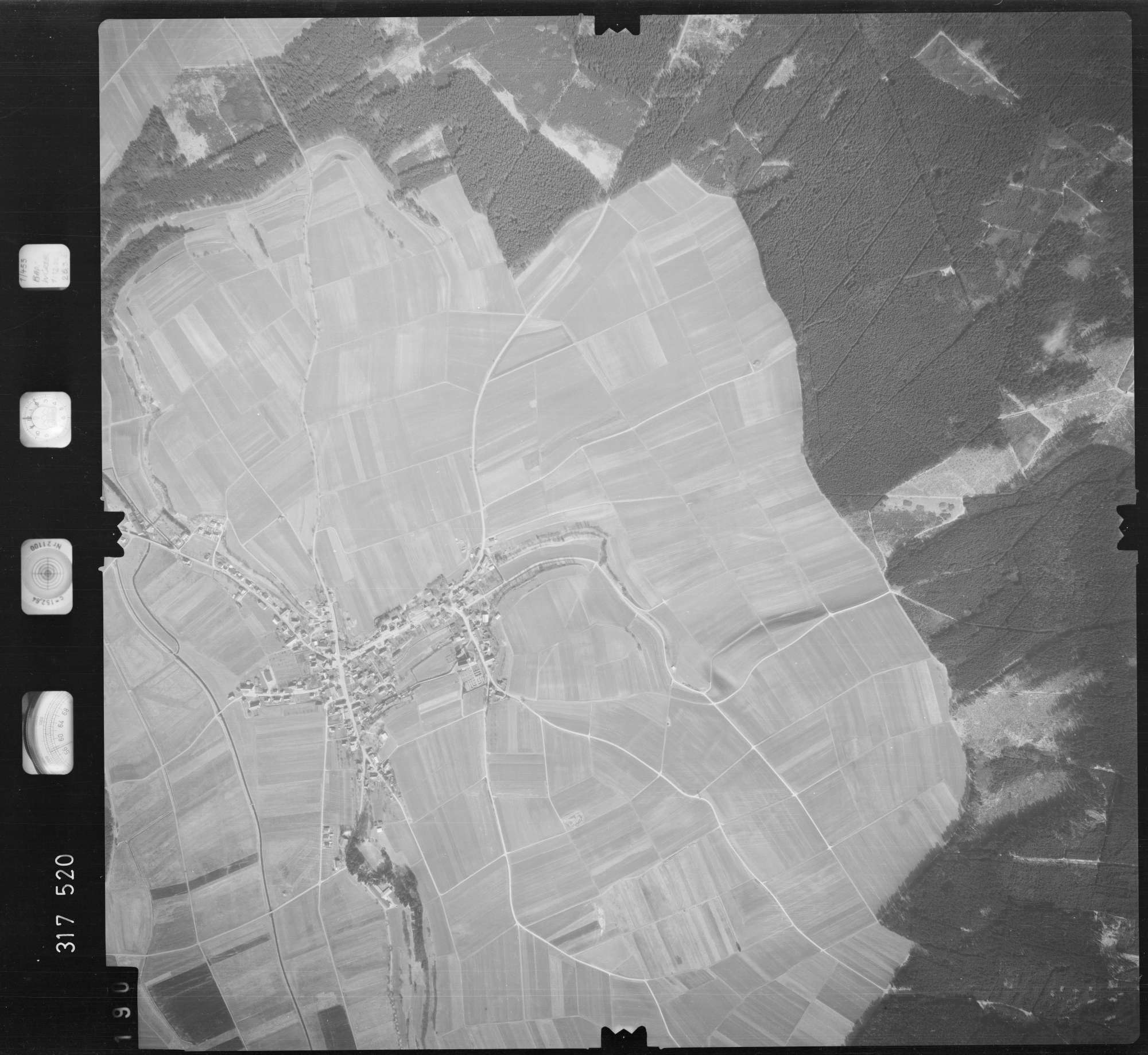 Luftbild: Film 57 Bildnr. 190, Bild 1