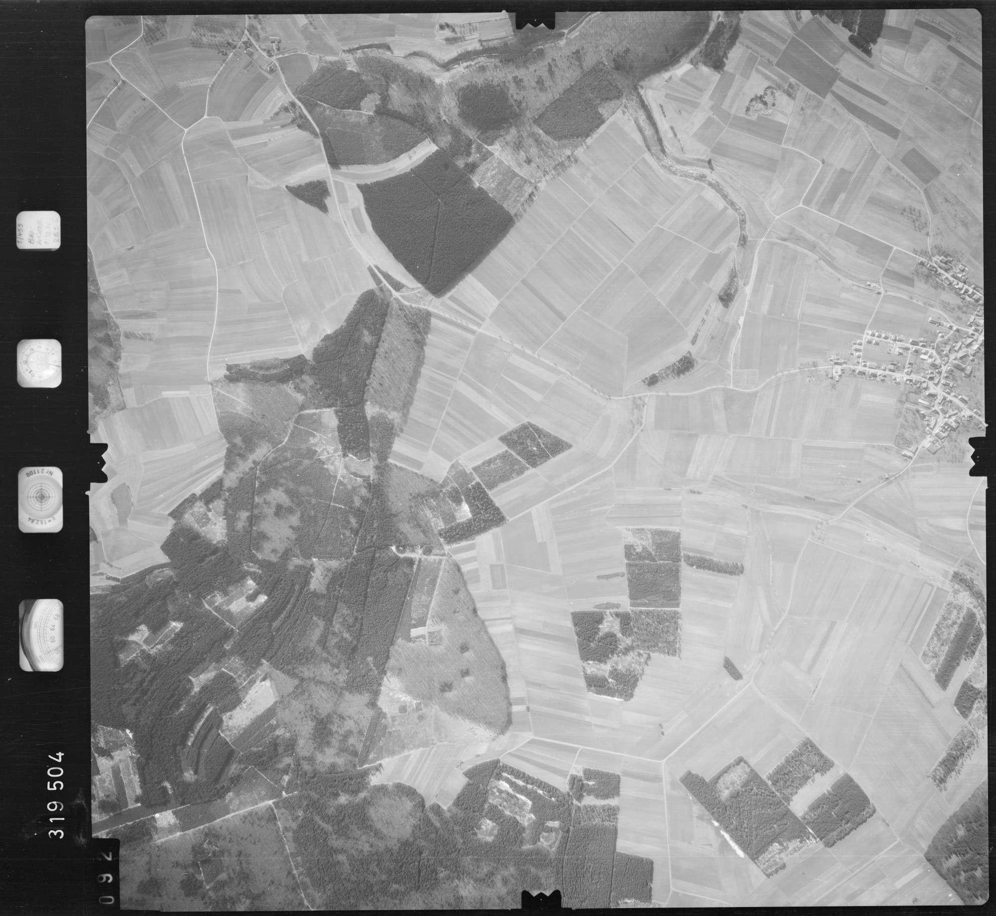 Luftbild: Film 57 Bildnr. 92, Bild 1