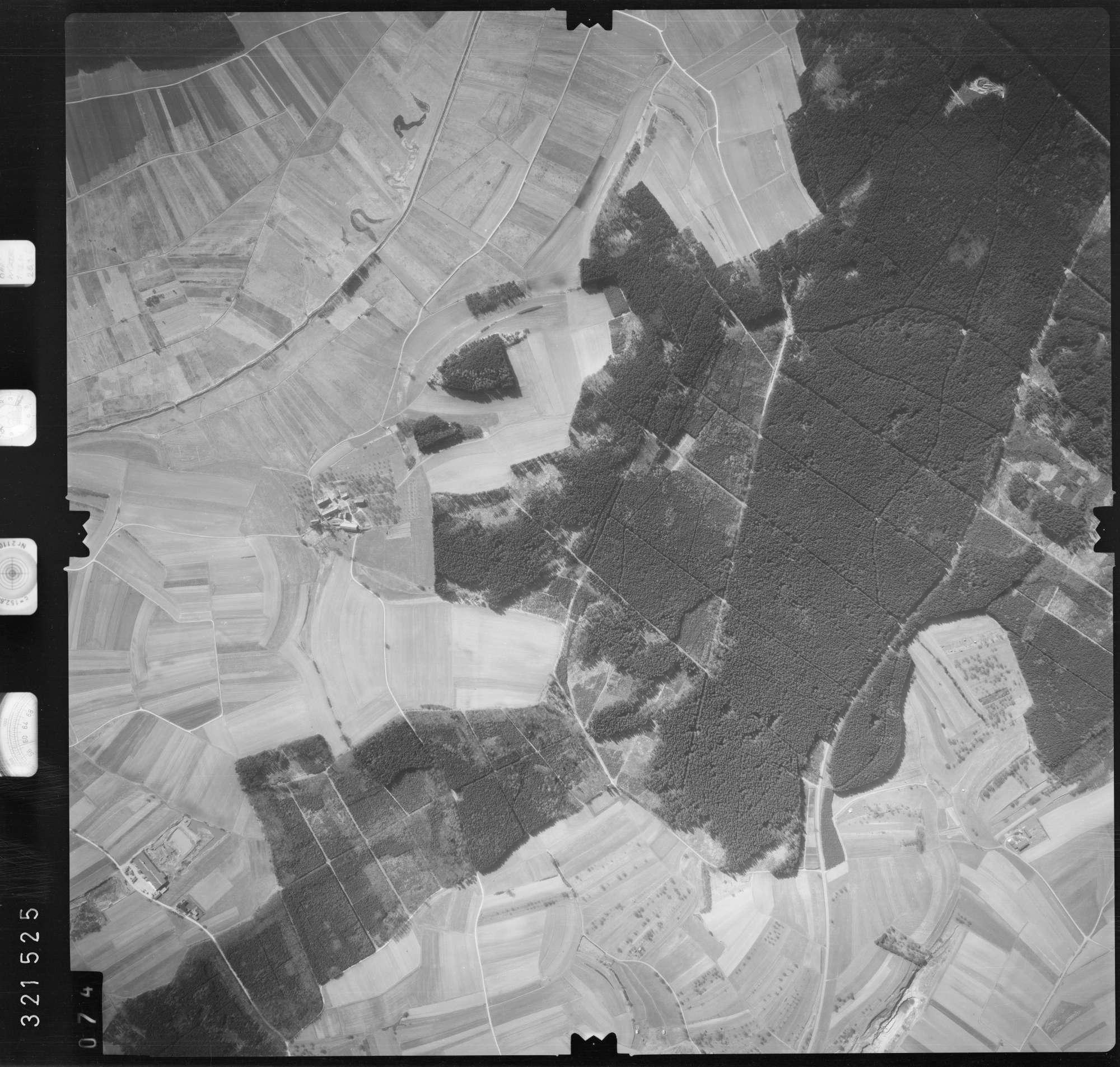 Luftbild: Film 53 Bildnr. 74, Bild 1