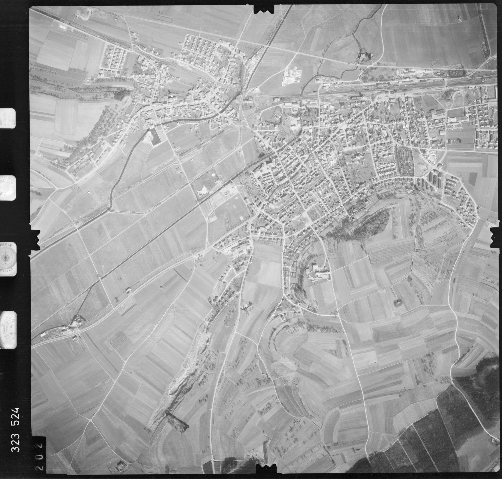 Luftbild: Film 53 Bildnr. 202, Bild 1