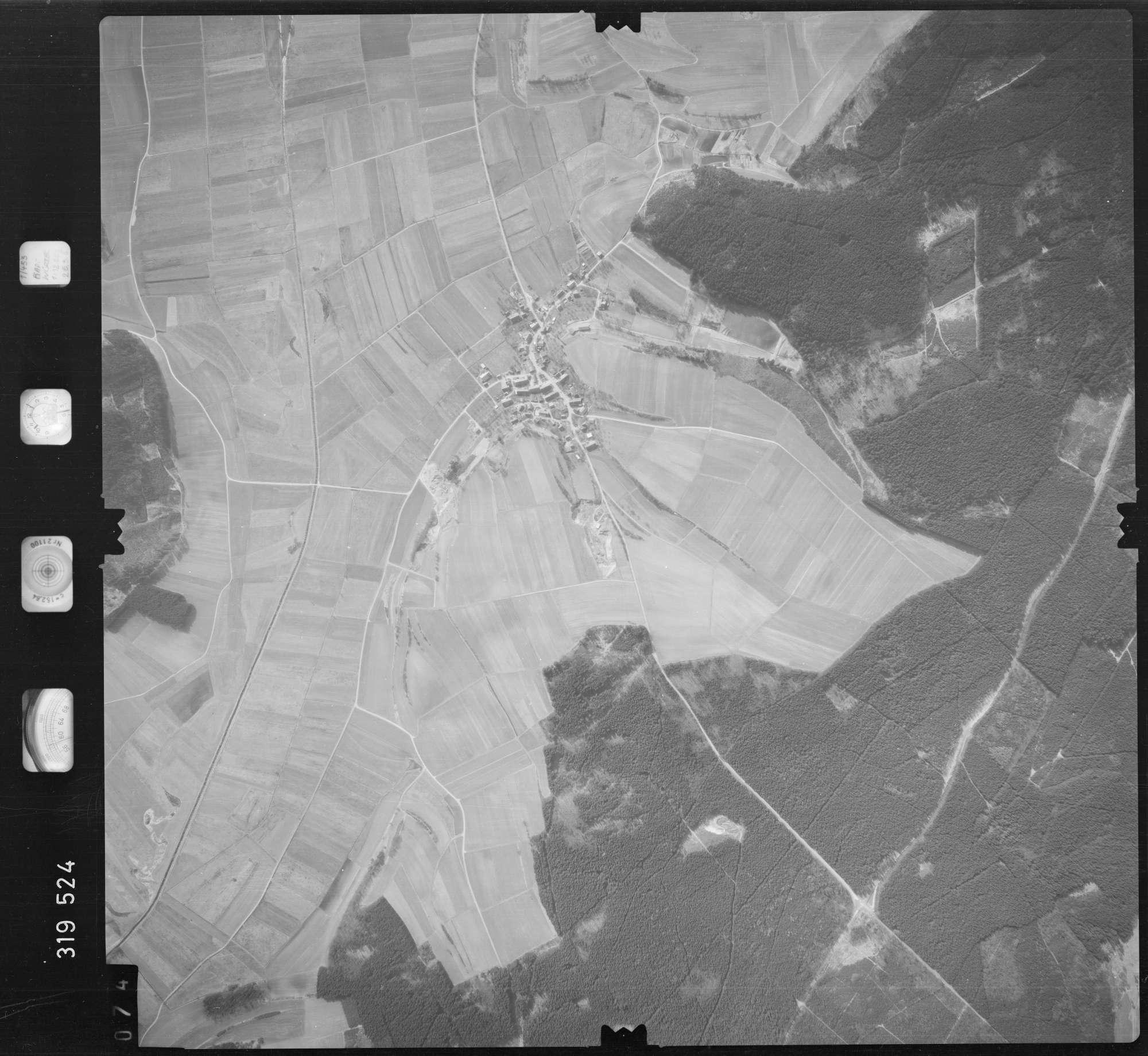 Luftbild: Film 57 Bildnr. 74, Bild 1