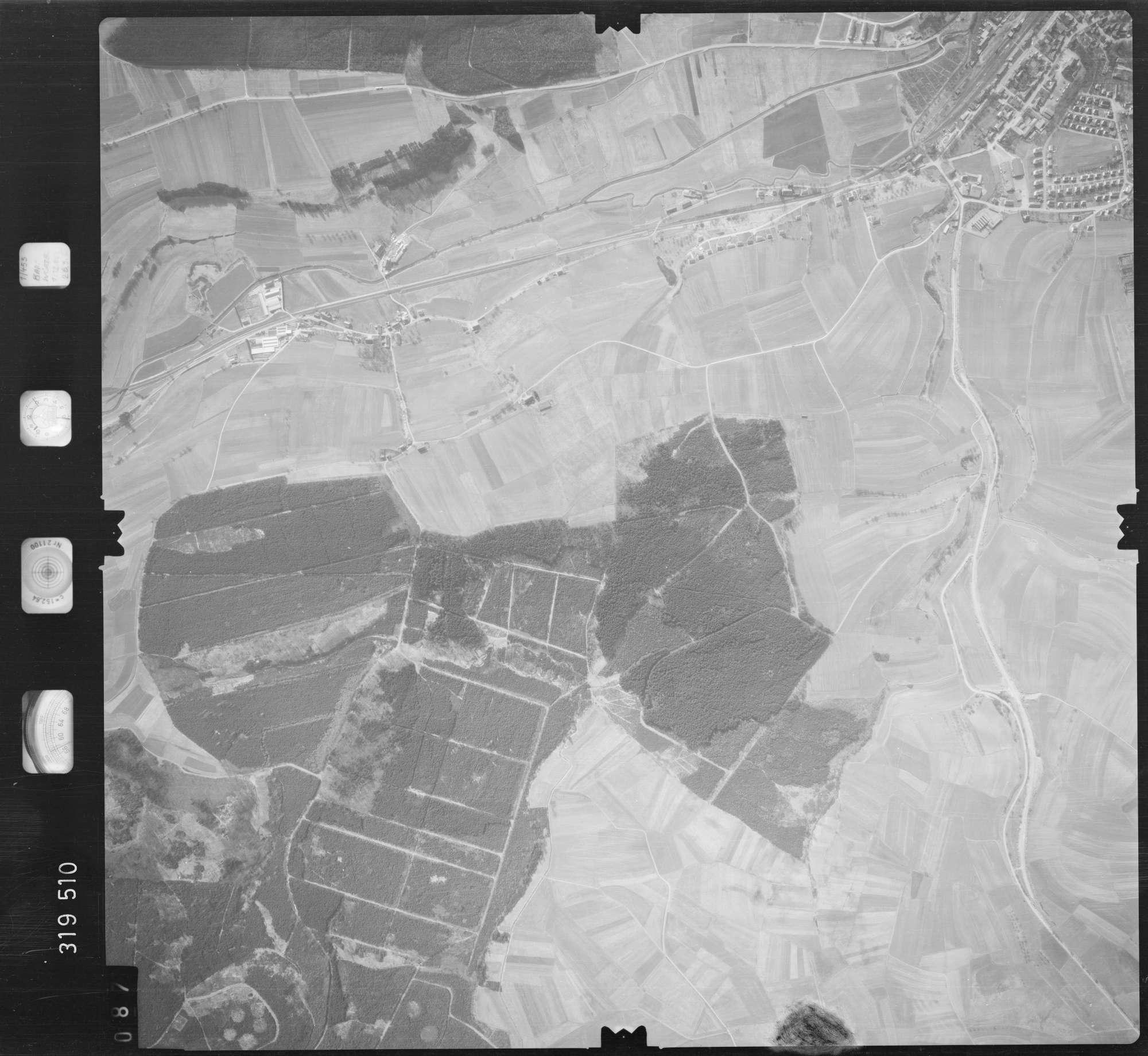 Luftbild: Film 57 Bildnr. 87, Bild 1