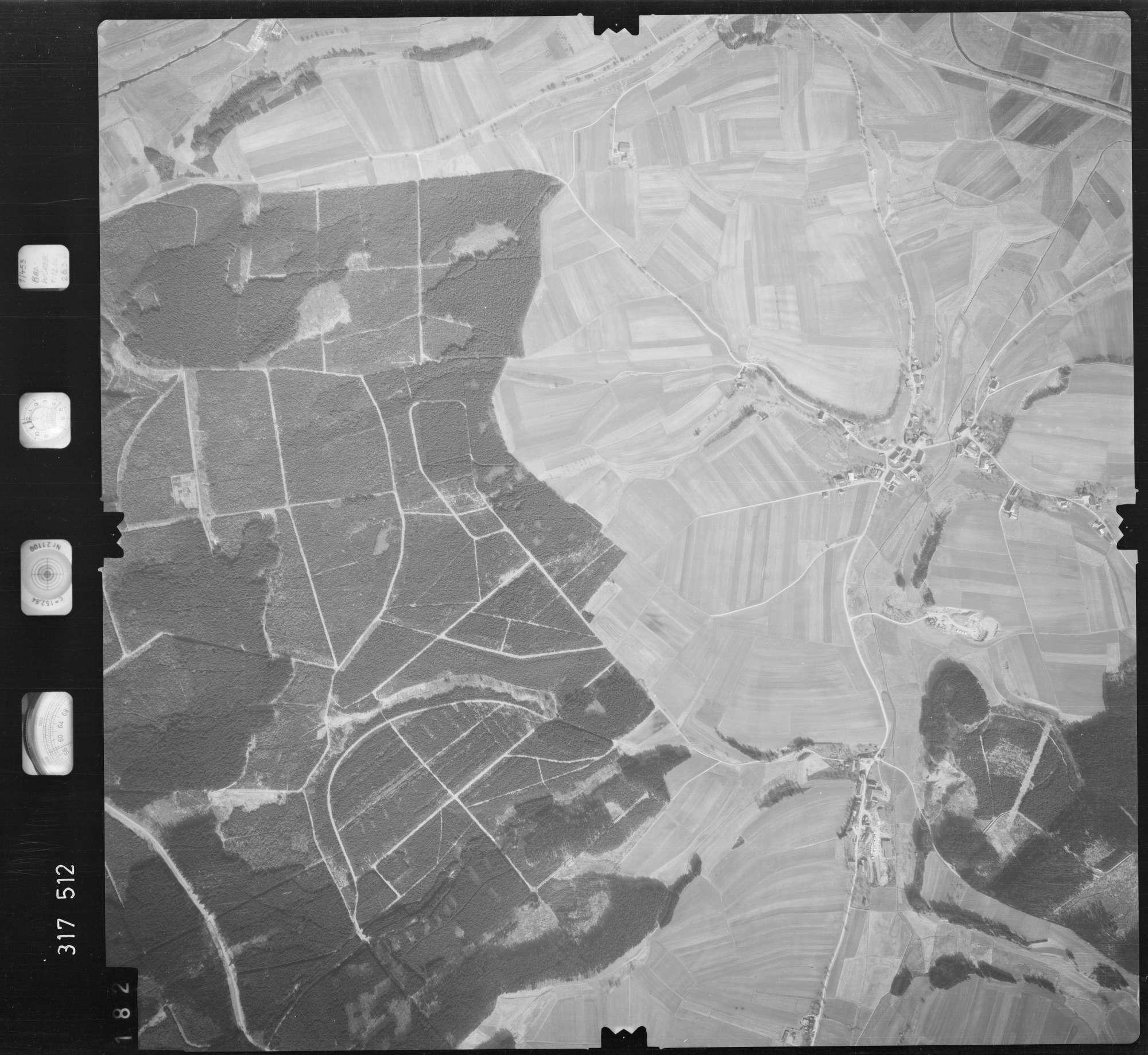 Luftbild: Film 57 Bildnr. 182, Bild 1