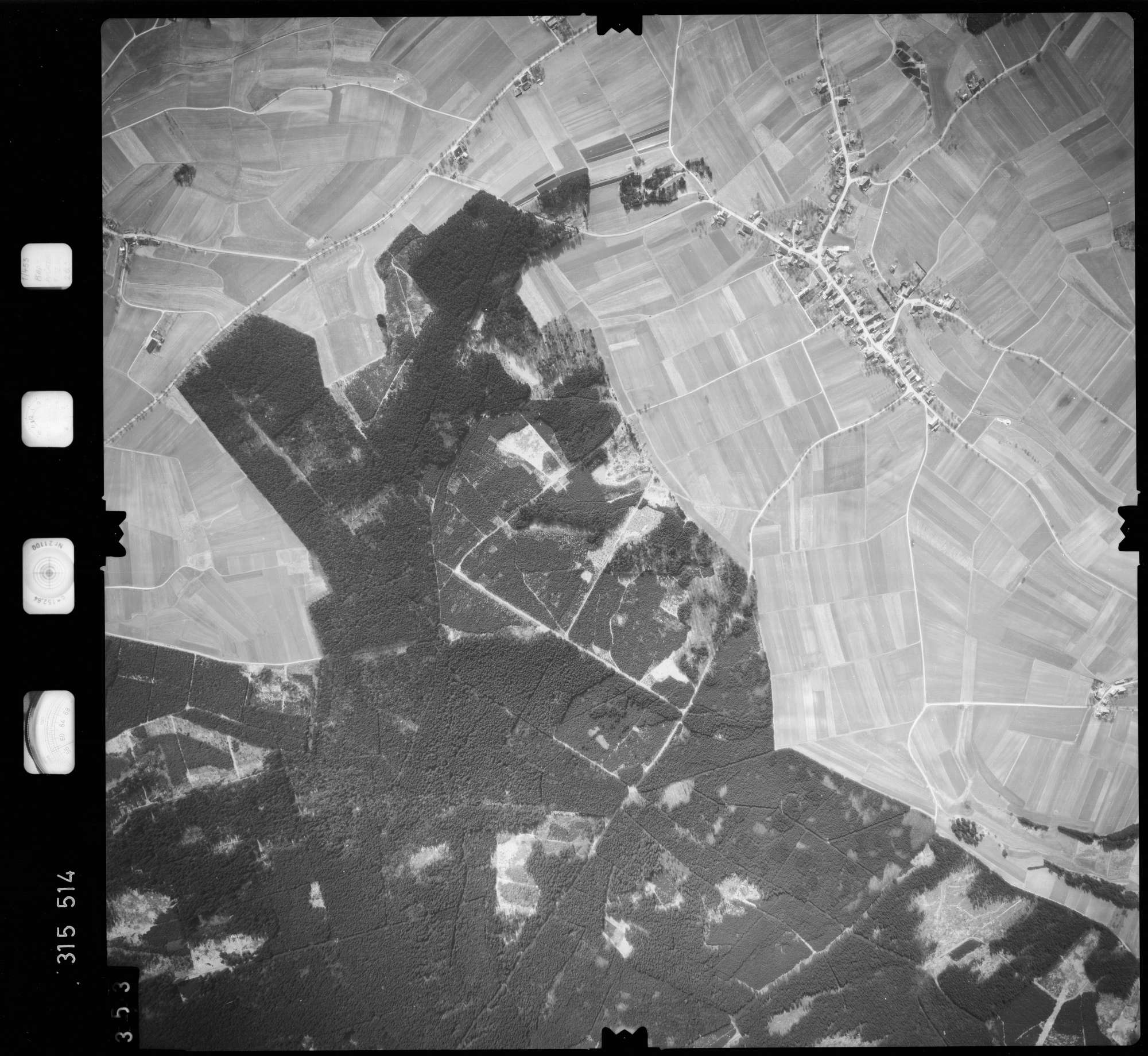 Luftbild: Film 58 Bildnr. 353, Bild 1